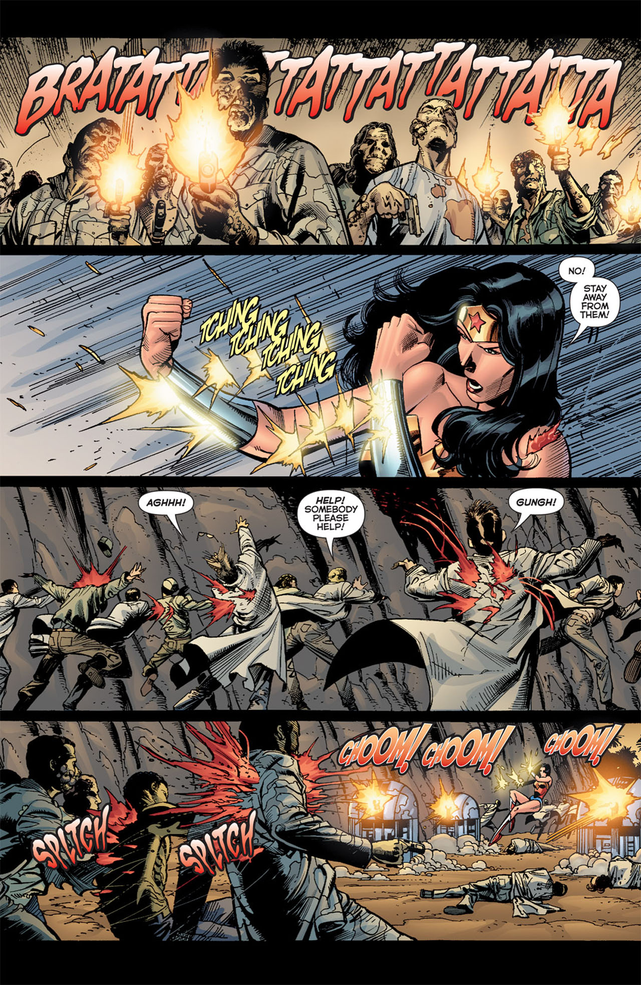 Read online 52 Aftermath: The Four Horsemen comic -  Issue #4 - 4