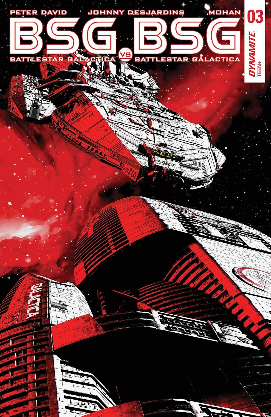 Battlestar Galactica BSG vs. BSG issue 3 - Page 1