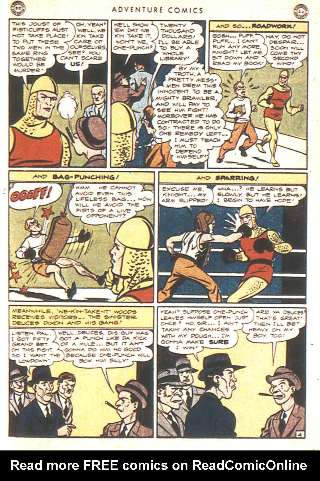 Read online Adventure Comics (1938) comic -  Issue #92 - 21