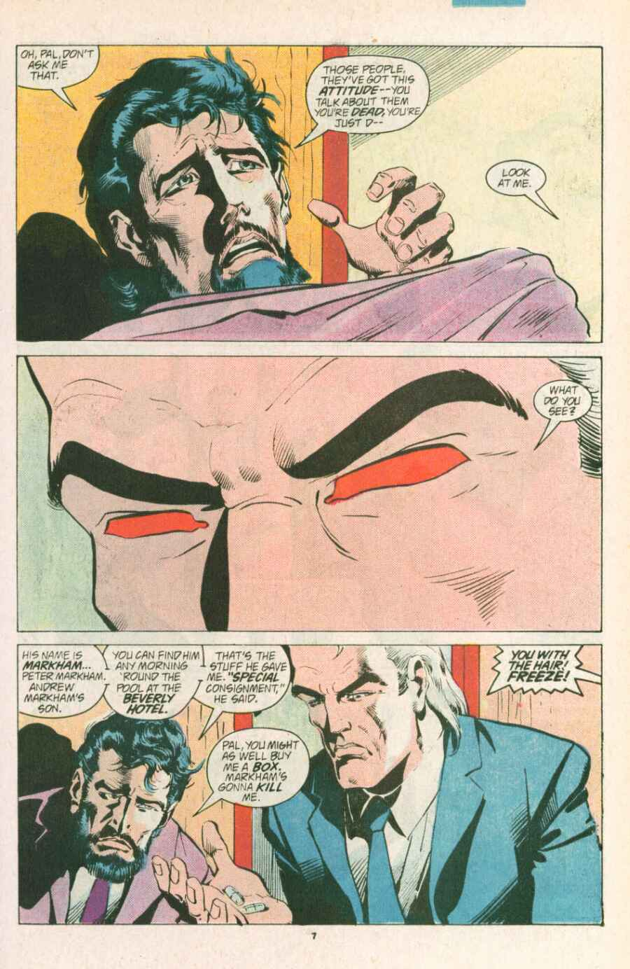 Read online Justice (1986) comic -  Issue #13 - 8