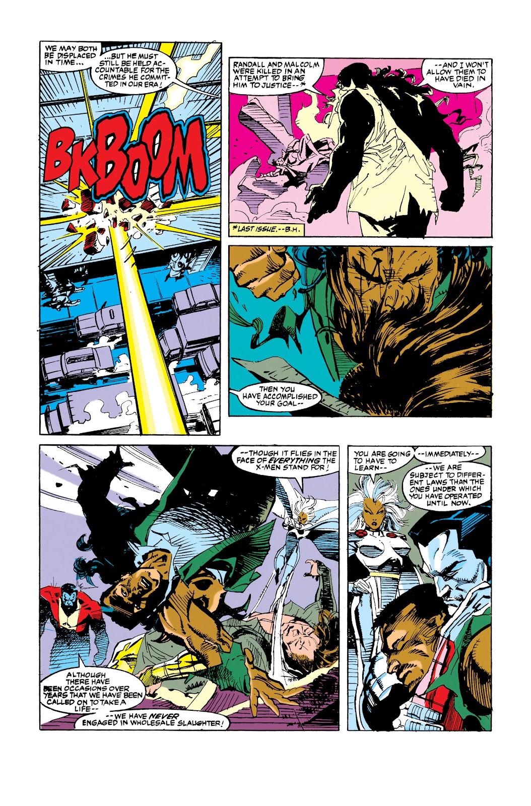 Uncanny X-Men (1963) issue 288 - Page 16