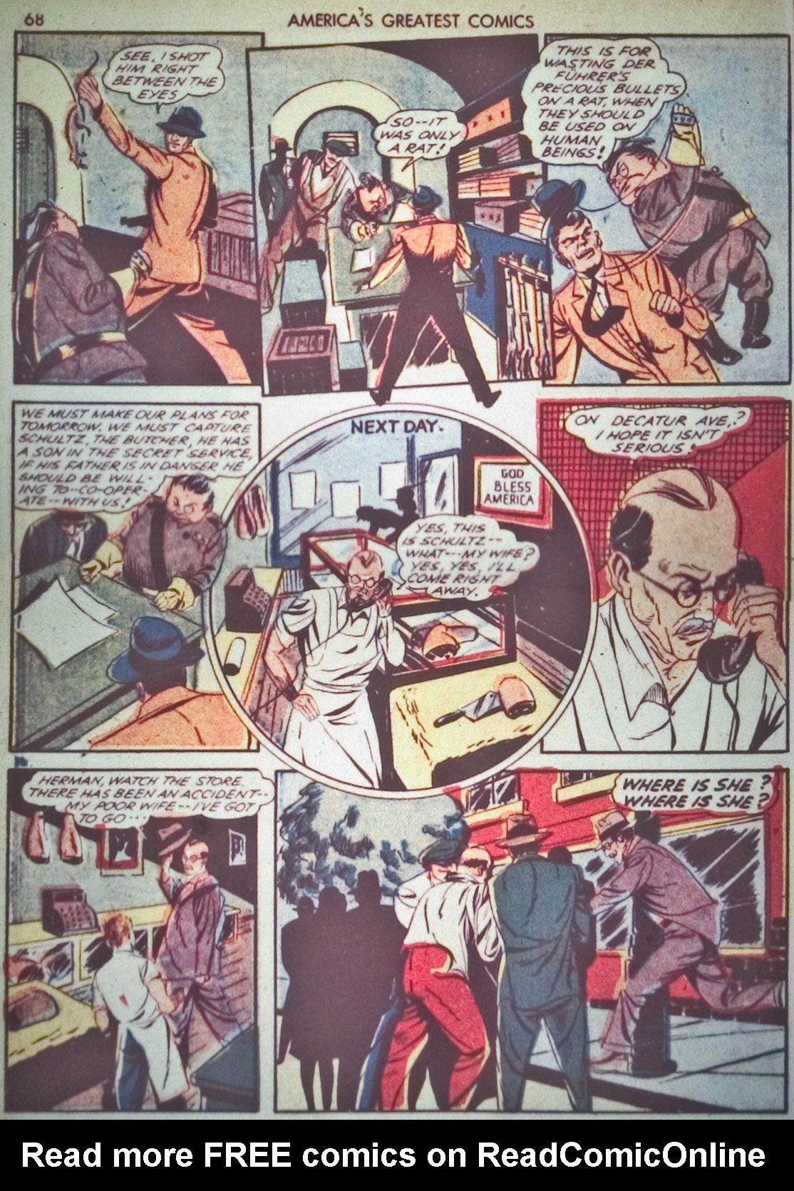 Read online America's Greatest Comics comic -  Issue #1 - 71