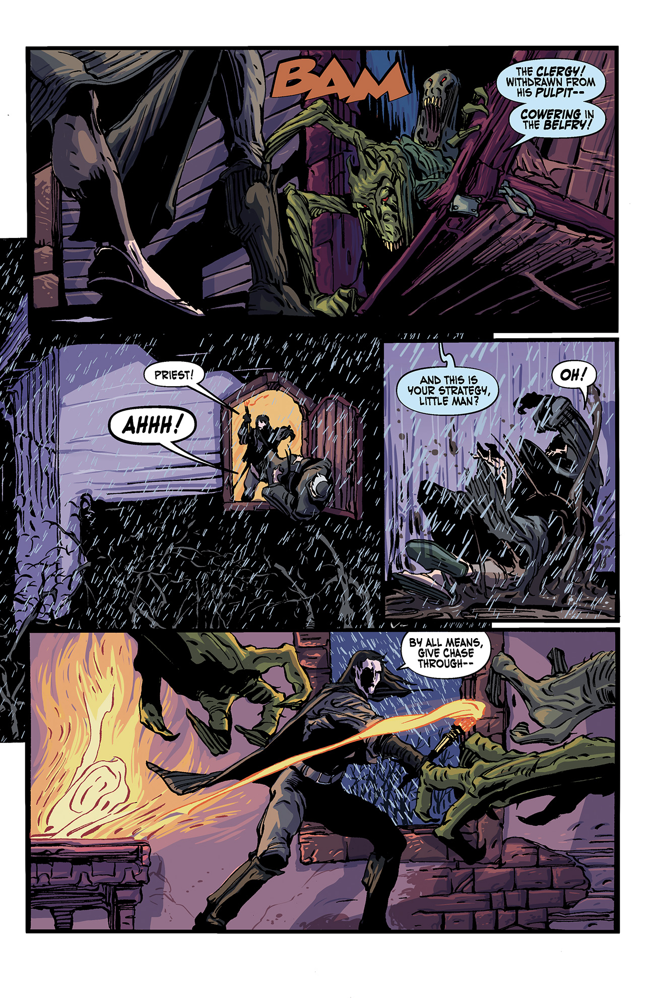 Read online Solomon Kane: Death's Black Riders comic -  Issue #4 - 16