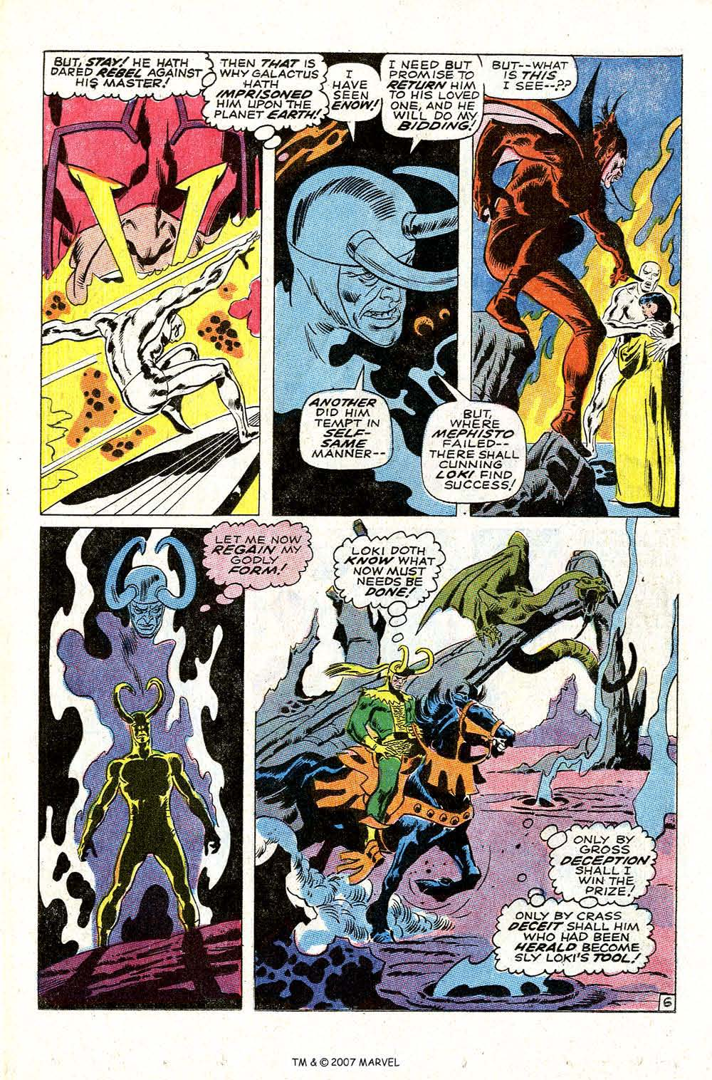 Read online Silver Surfer (1968) comic -  Issue #4 - 8