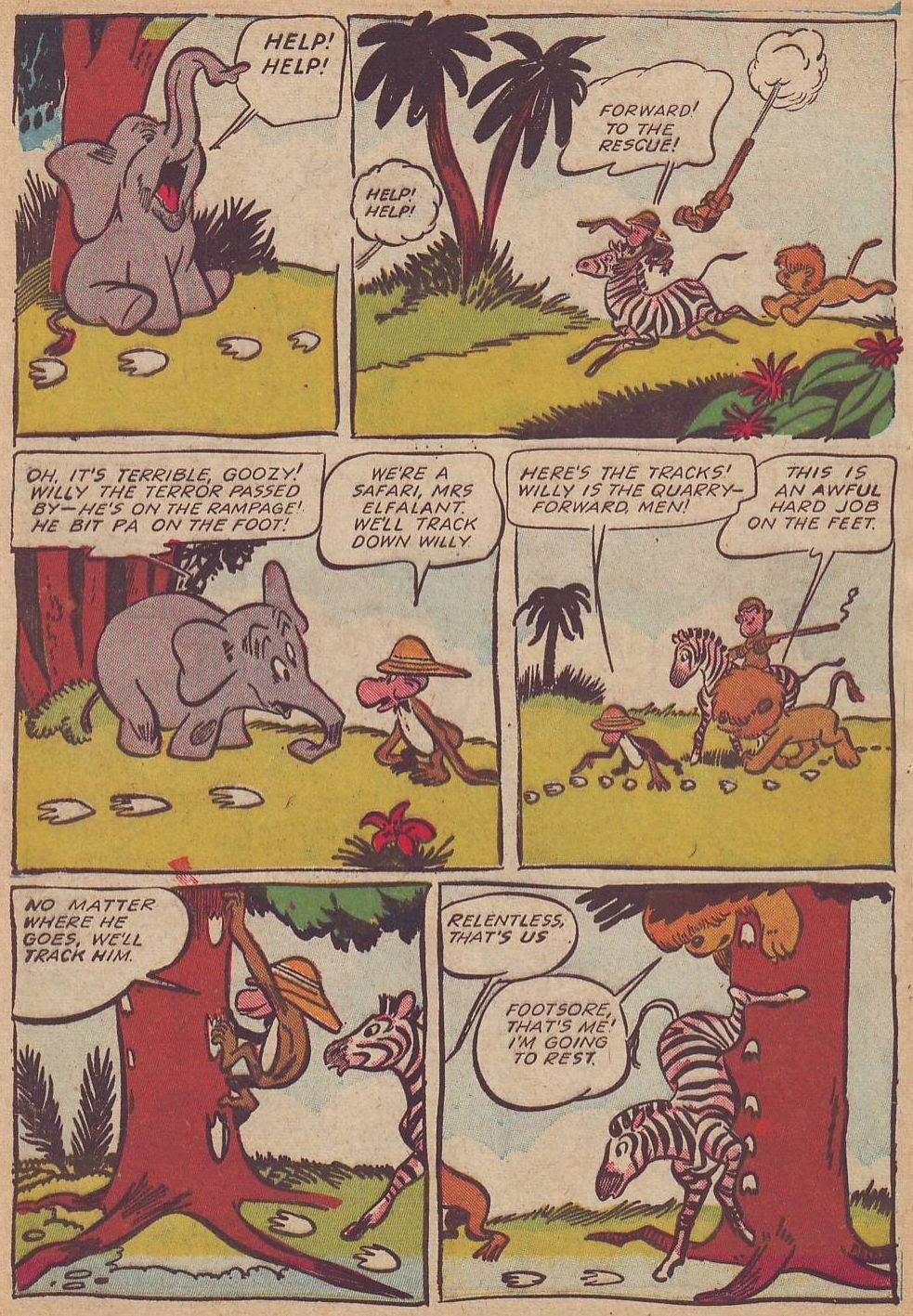 Read online Animal Comics comic -  Issue #23 - 46