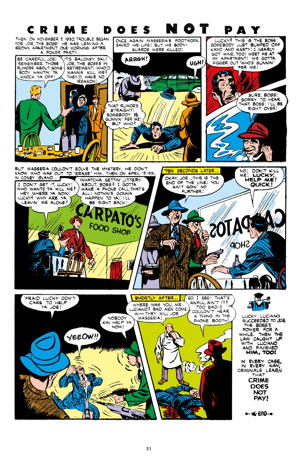 Read online Crime Does Not Pay Archives comic -  Issue # TPB 7 (Part 1) - 53