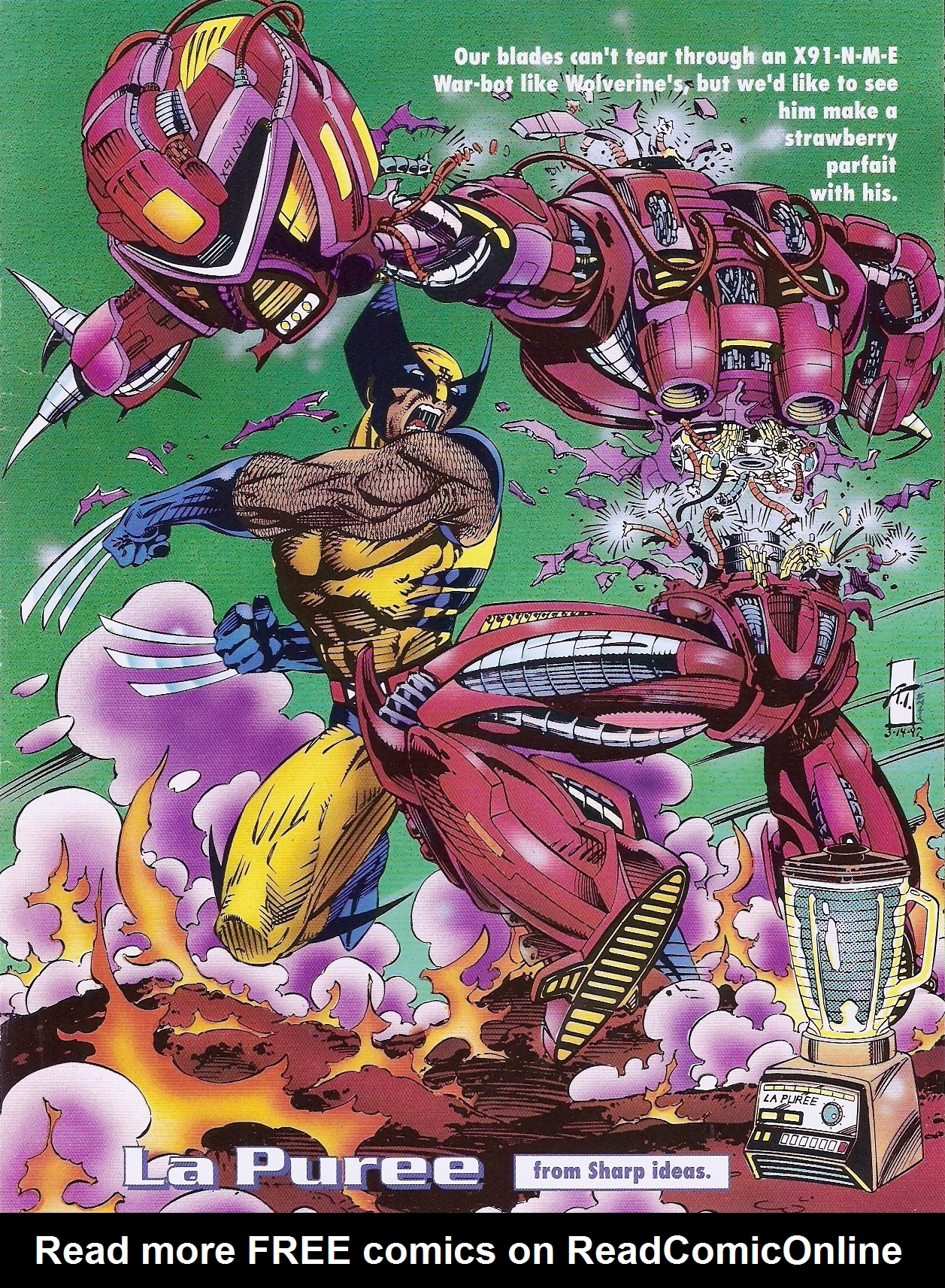 Read online Marvel Swimsuit Special comic -  Issue #1 - 44