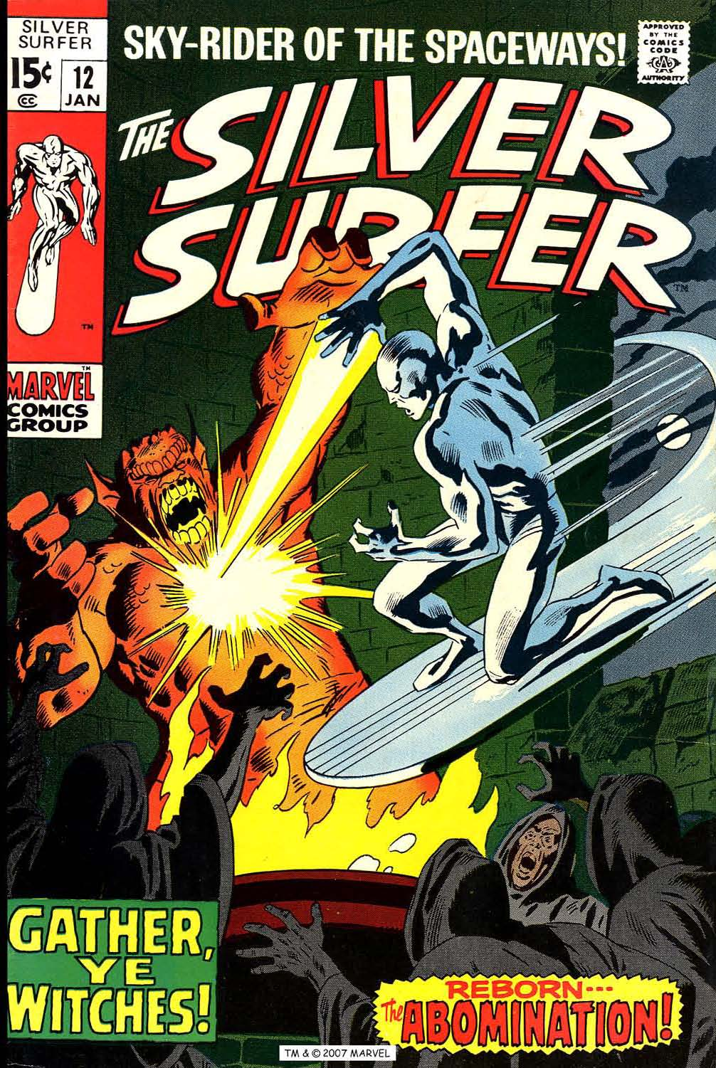 Read online Silver Surfer (1968) comic -  Issue #12 - 1