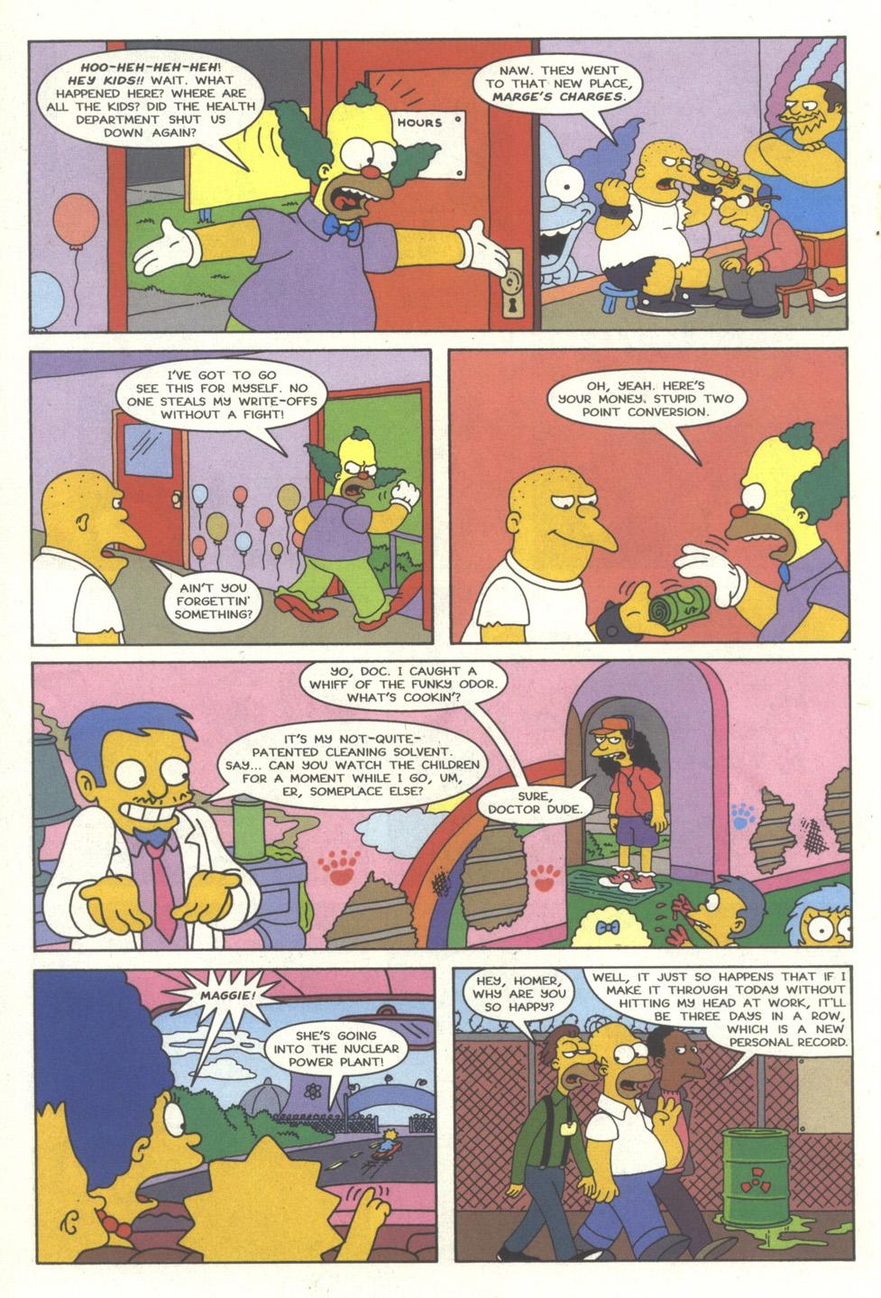 Read online Simpsons Comics comic -  Issue #35 - 17