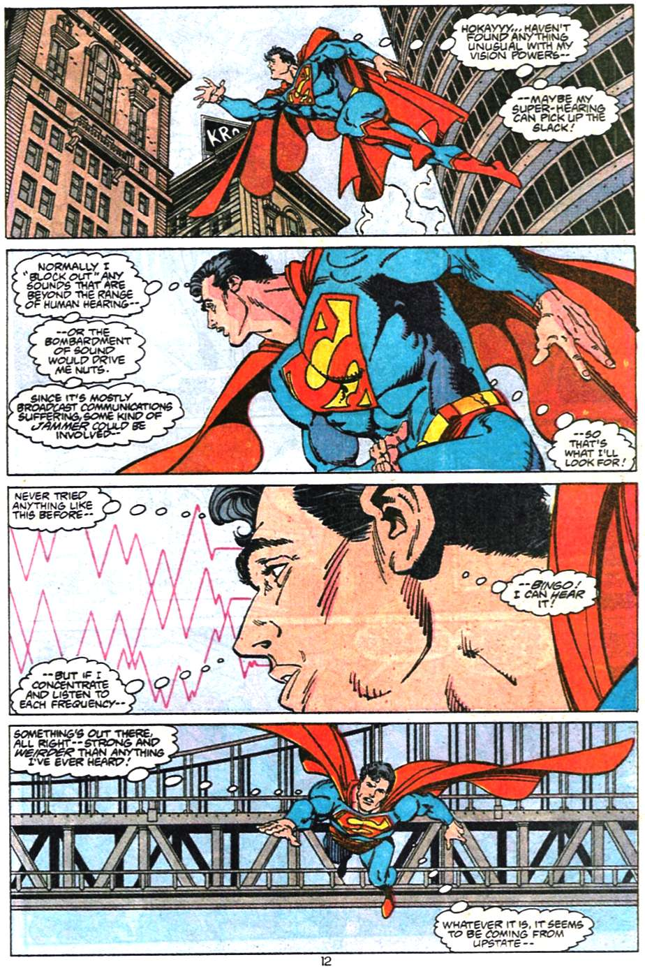 Read online Adventures of Superman (1987) comic -  Issue #468 - 13