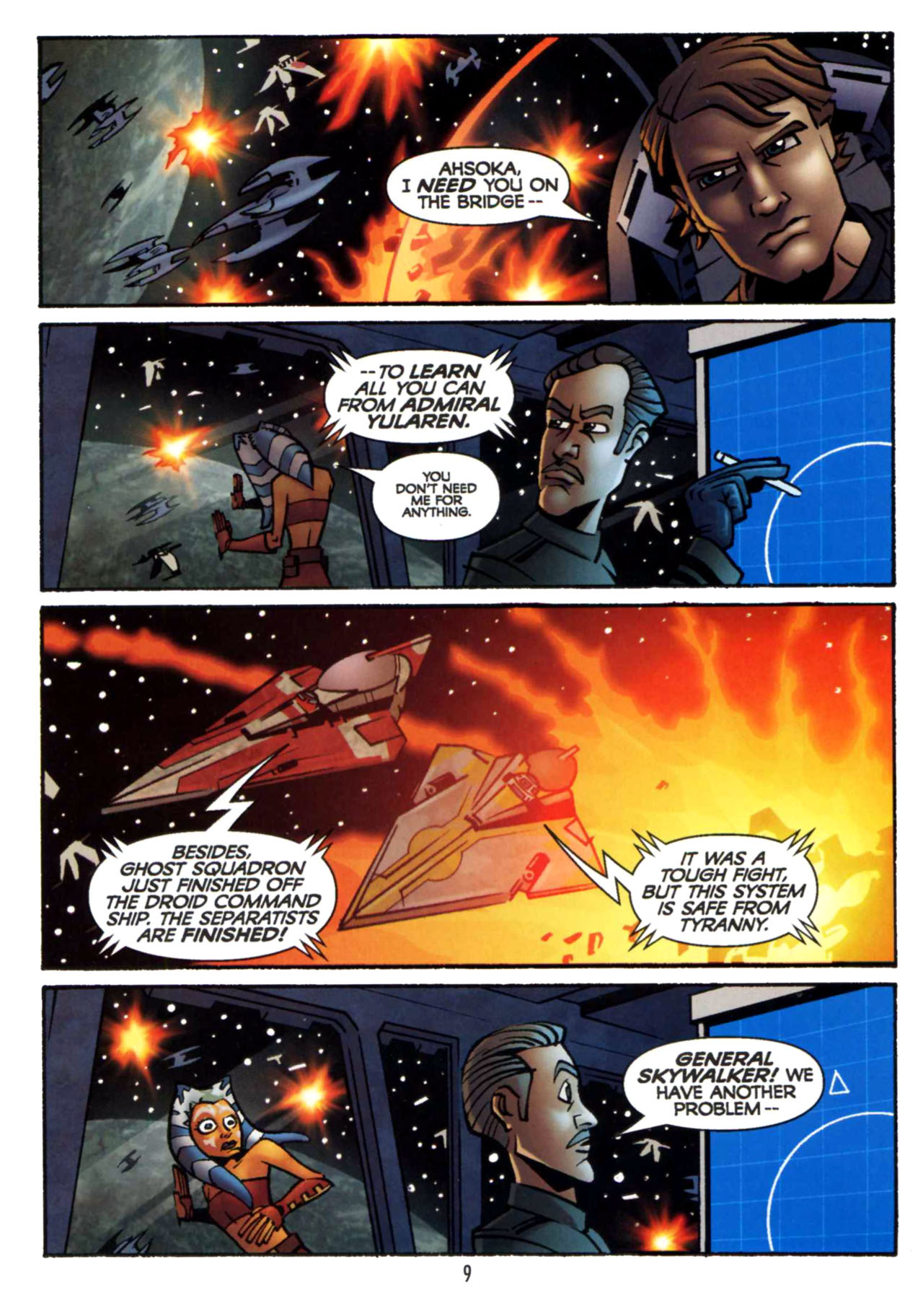 Read online Star Wars: The Clone Wars - Shipyards of Doom comic -  Issue # Full - 8