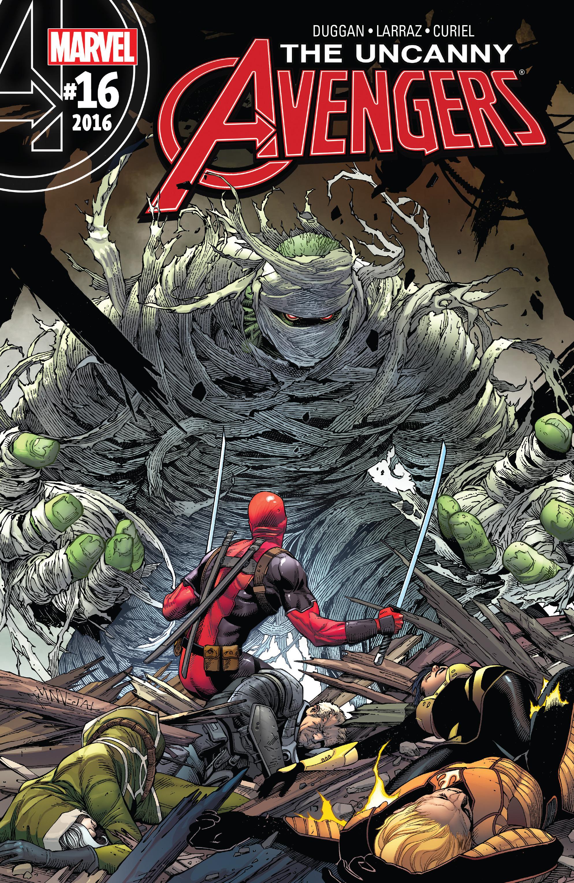 Read online Uncanny Avengers [II] comic -  Issue #16 - 1