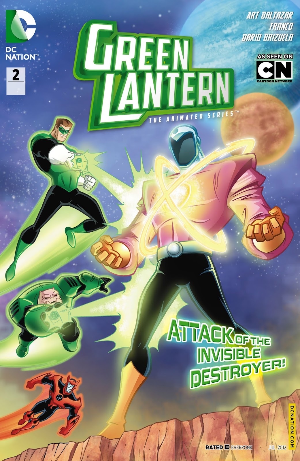Green Lantern: The Animated Series 2 Page 1
