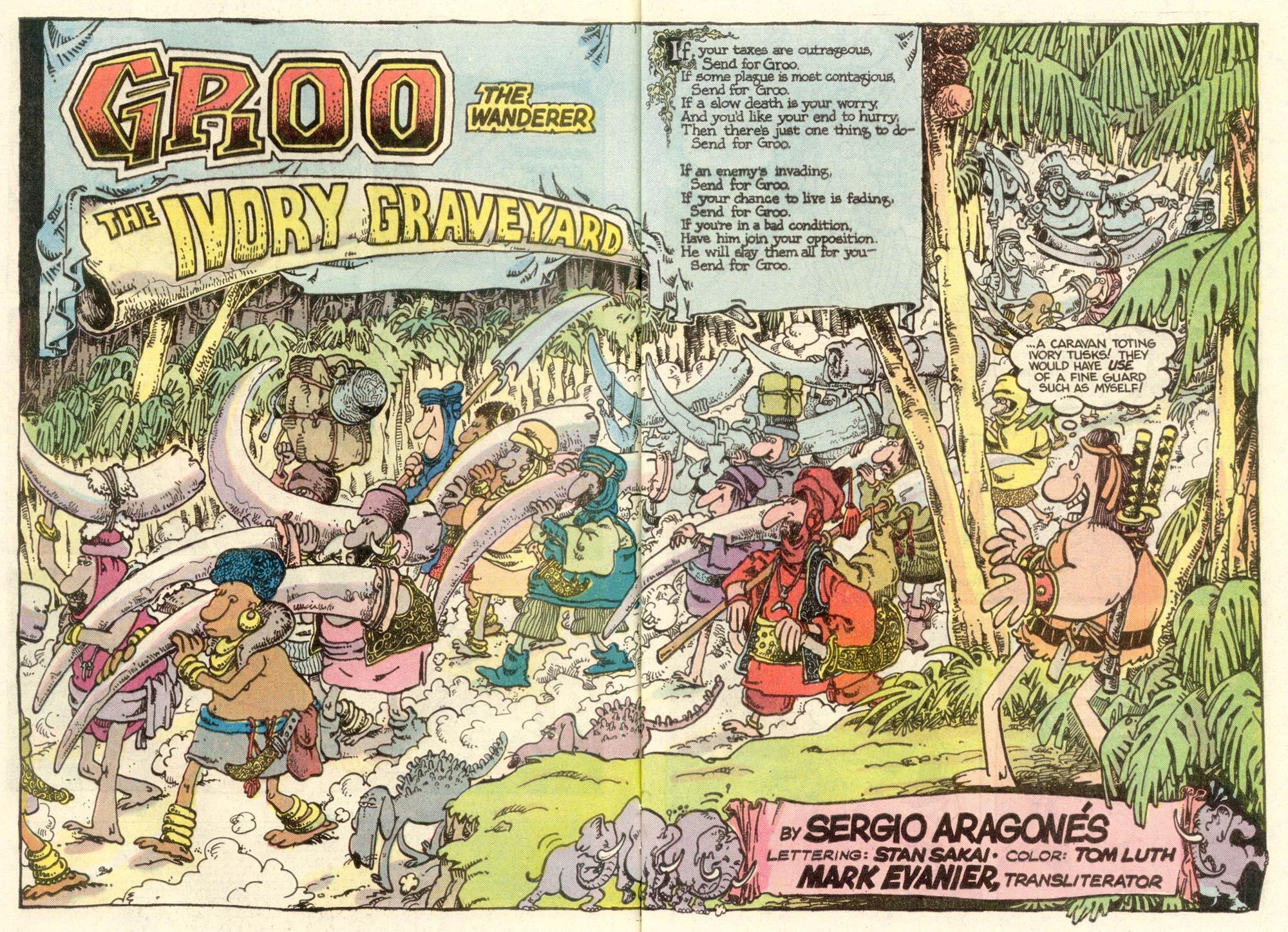 Read online Sergio Aragonés Groo the Wanderer comic -  Issue #7 - 3