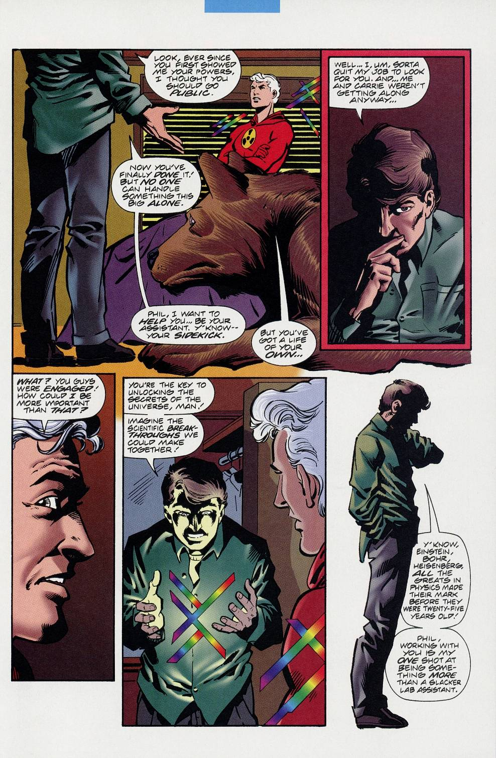 Read online Solar, Man of the Atom comic -  Issue #59 - 7