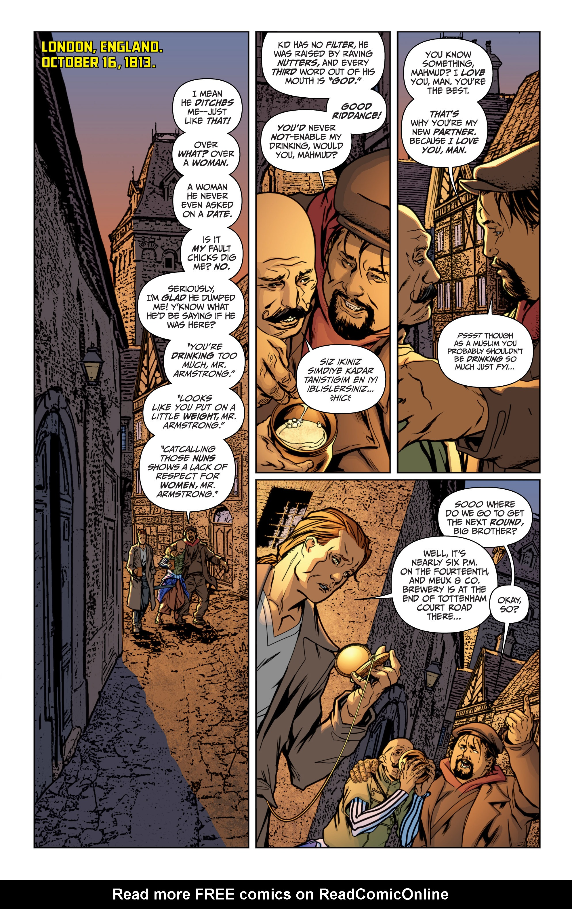 Read online Archer and Armstrong comic -  Issue #Archer and Armstrong _TPB 4 - 42