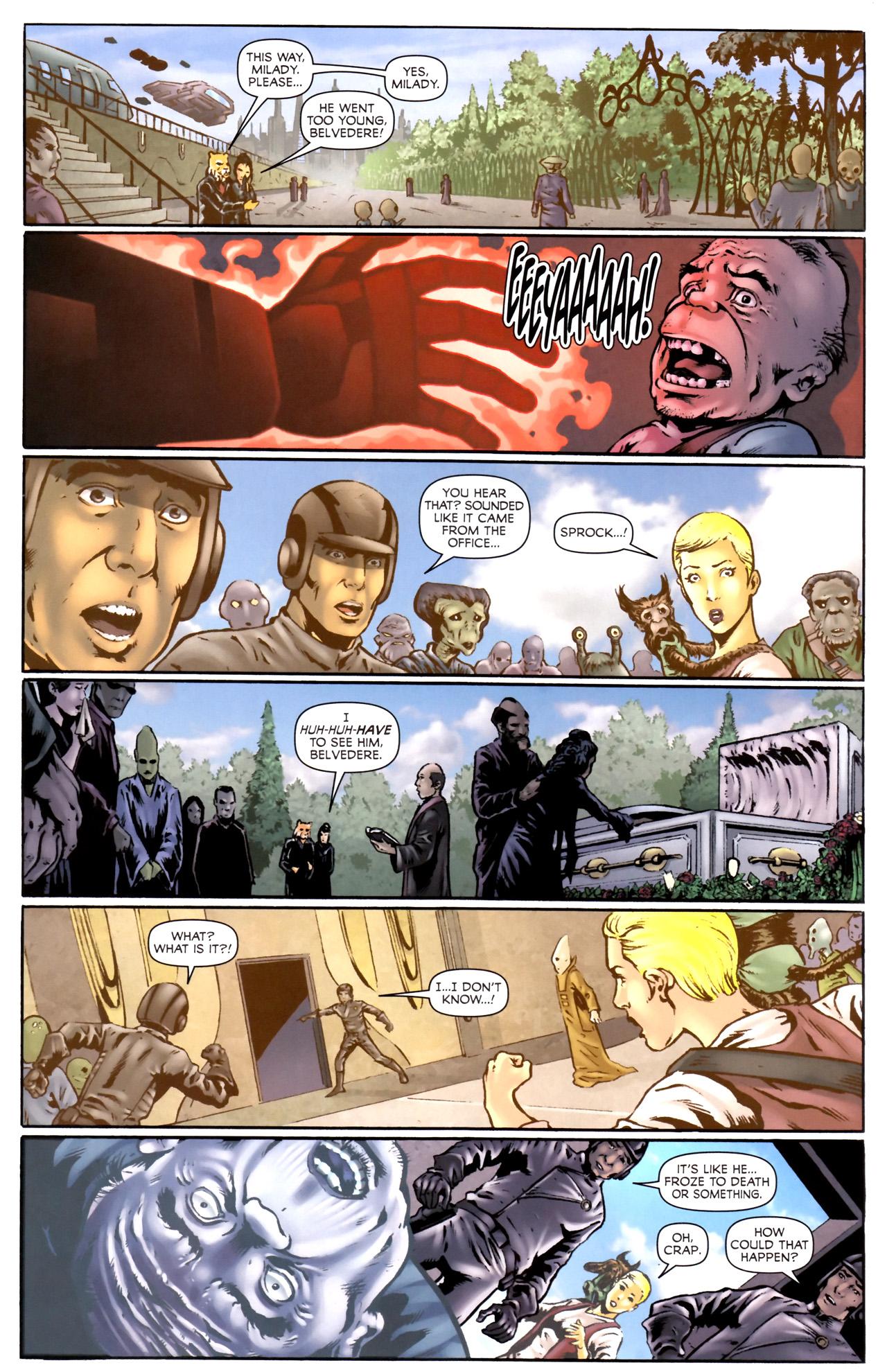 Read online Stargate Vala Mal Doran comic -  Issue #2 - 19