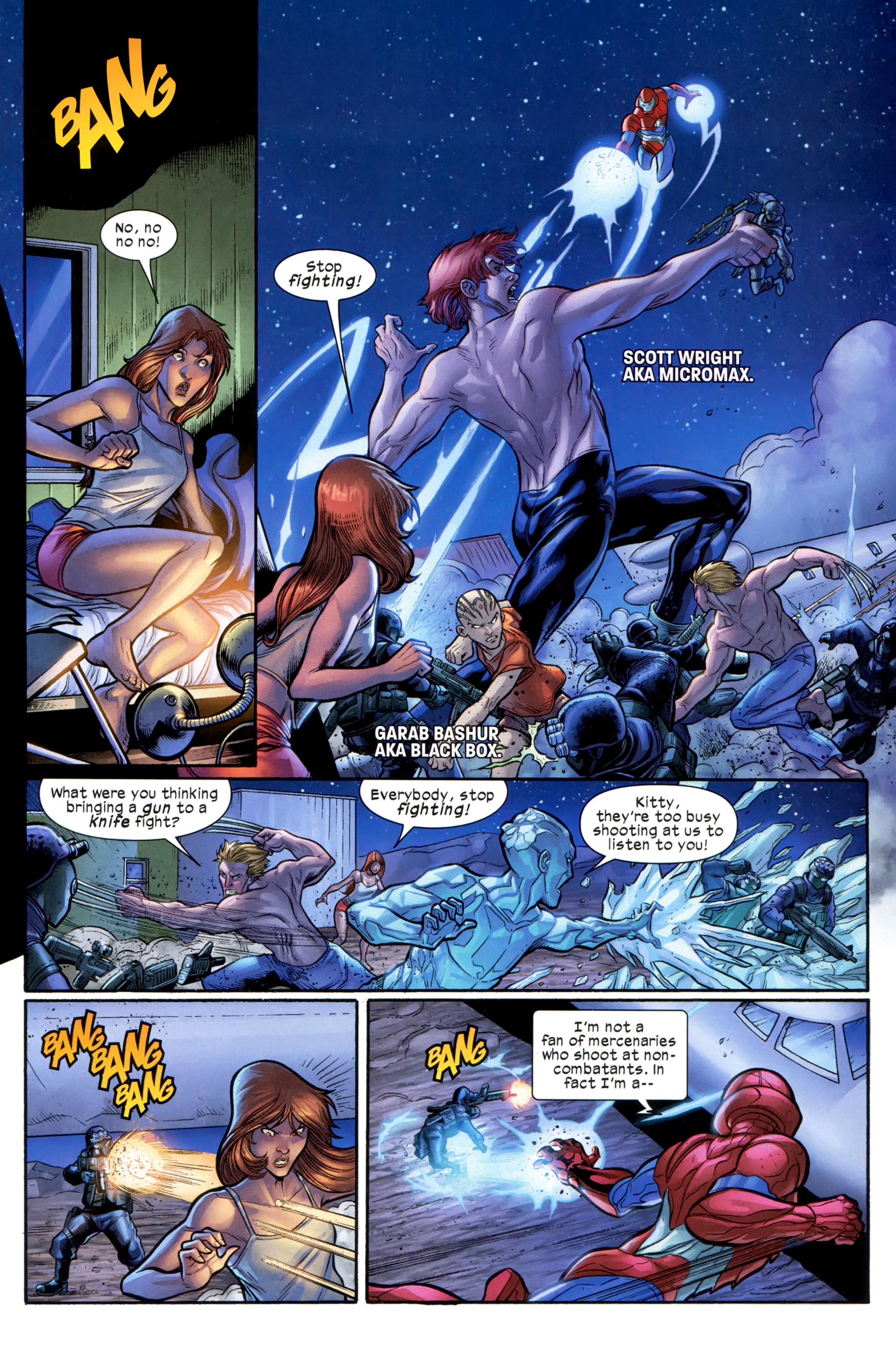 Read online Ultimate Comics X-Men comic -  Issue #21 - 18