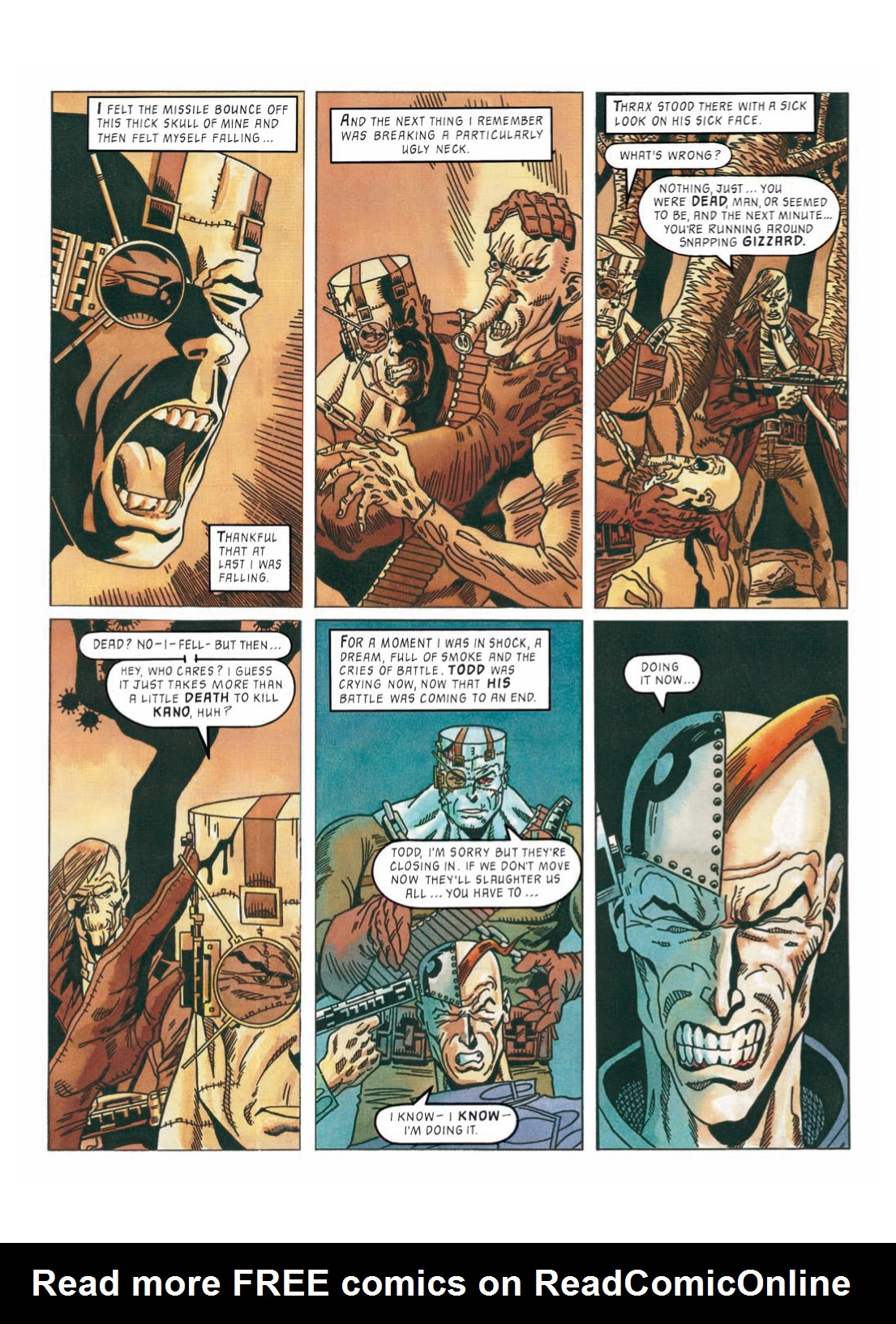 Read online The Complete Bad Company comic -  Issue # TPB - 300