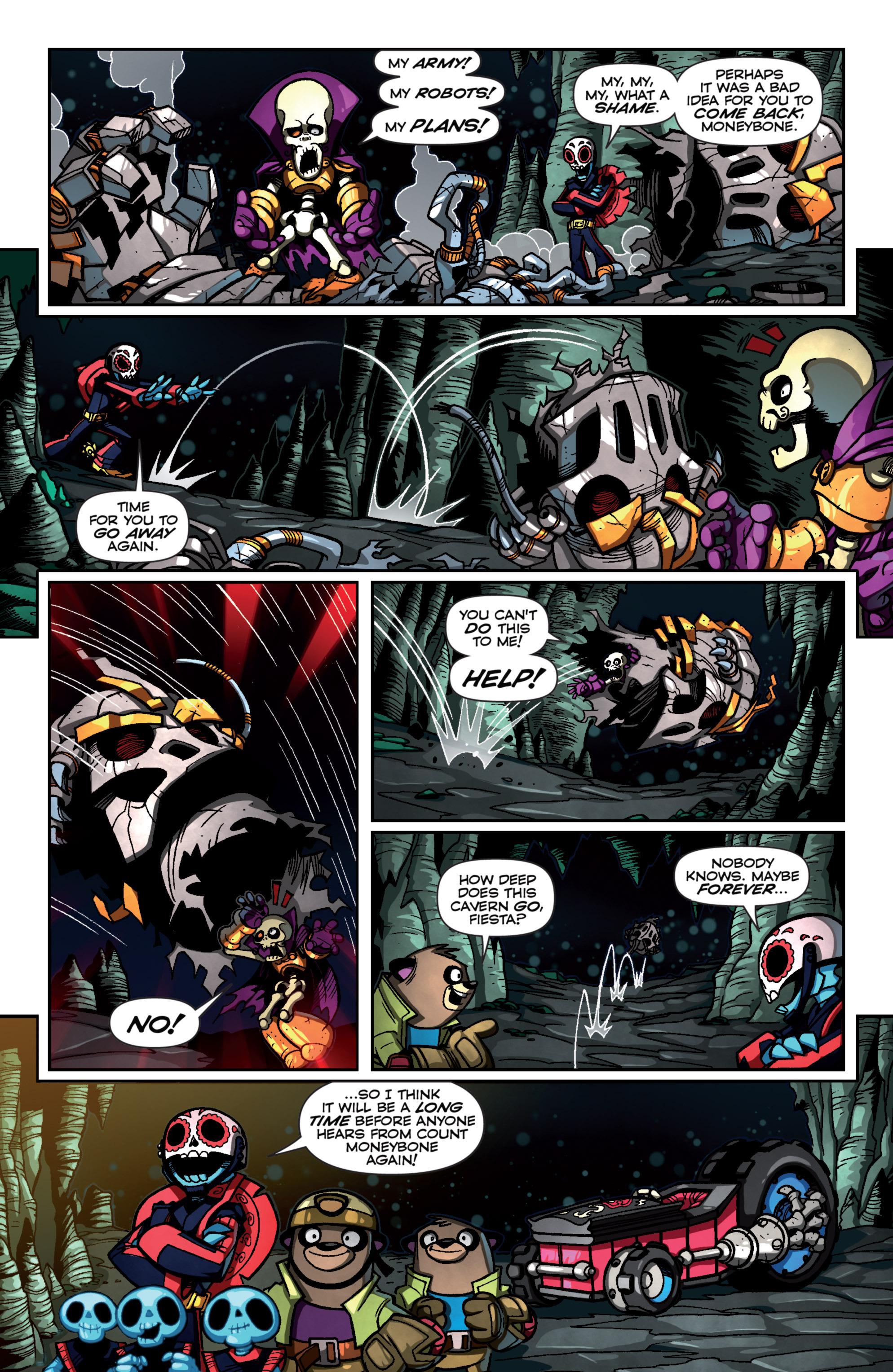 Read online Skylanders Superchargers comic -  Issue #4 - 18