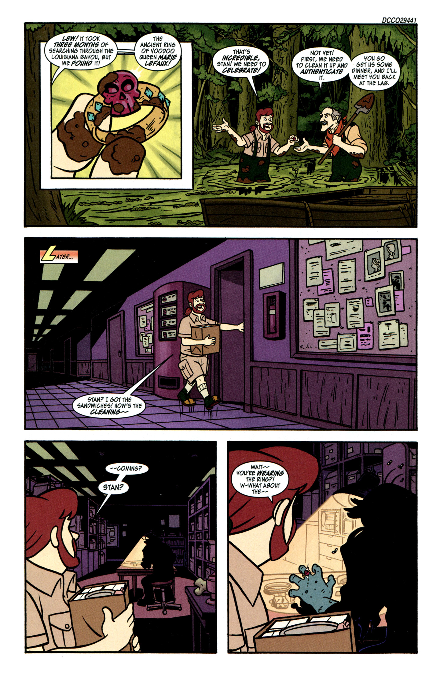 Read online Scooby-Doo: Where Are You? comic -  Issue #30 - 3