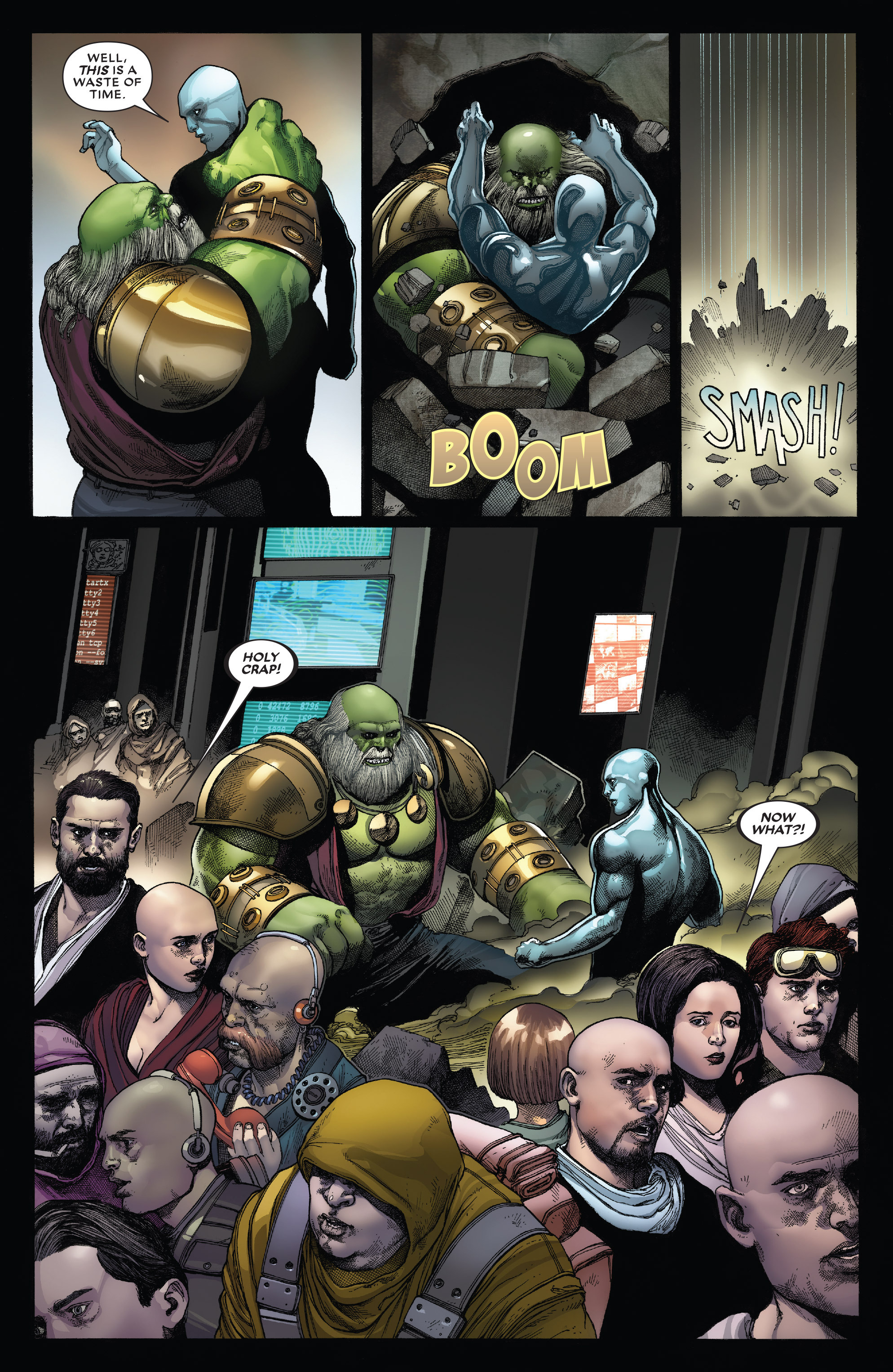 Read online Secret Wars: Battleworld comic -  Issue #4 - 17