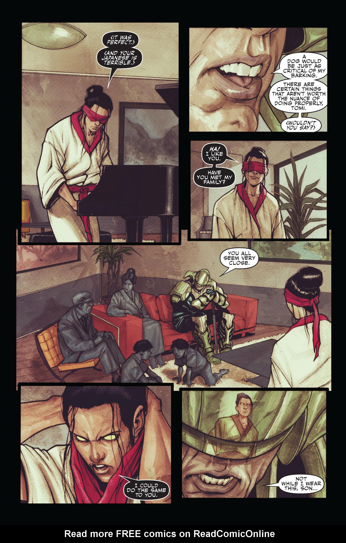 Read online Secret Warriors comic -  Issue #11 - 14