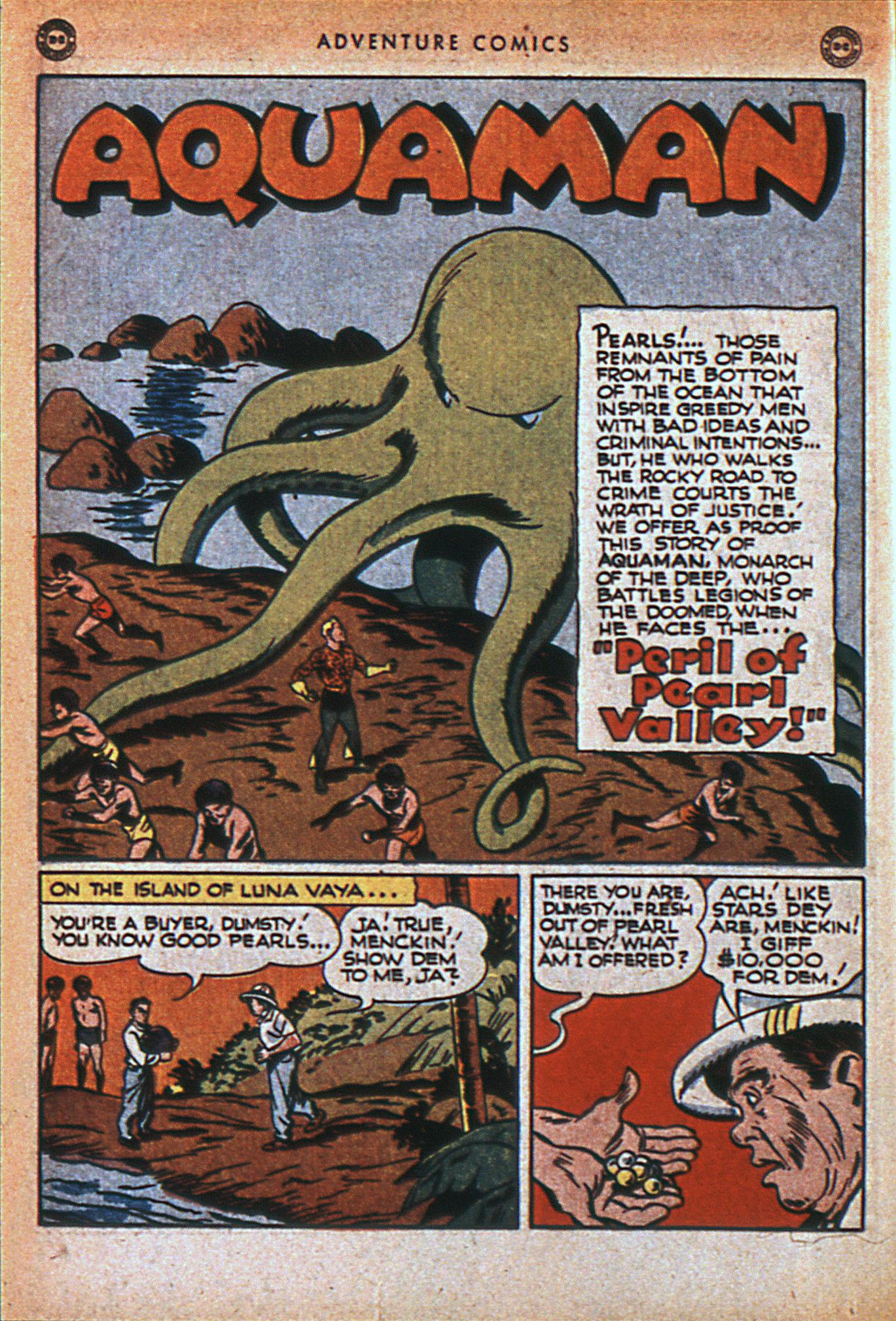Read online Adventure Comics (1938) comic -  Issue #116 - 31