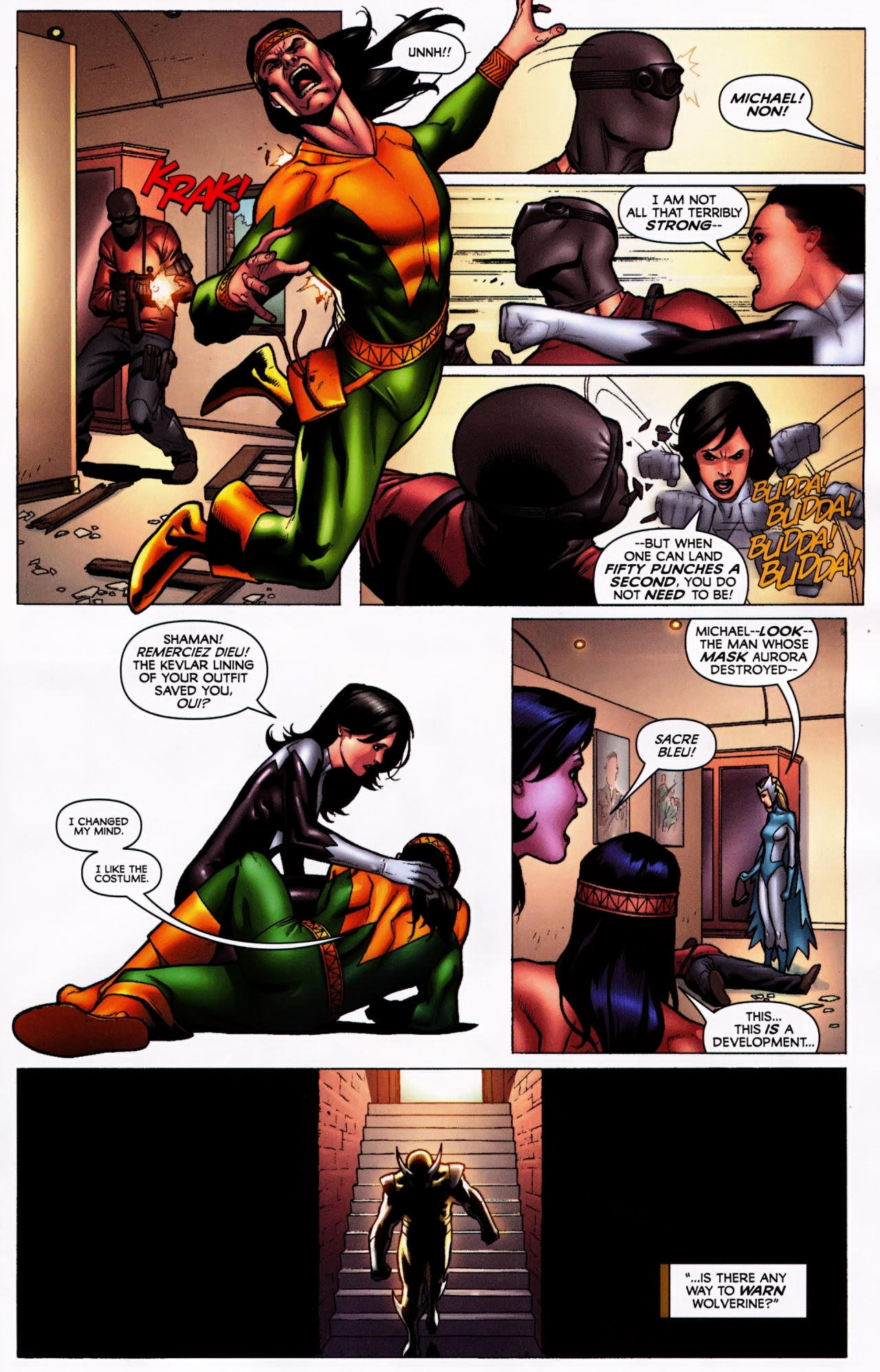 Read online Wolverine: First Class comic -  Issue #5 - 13