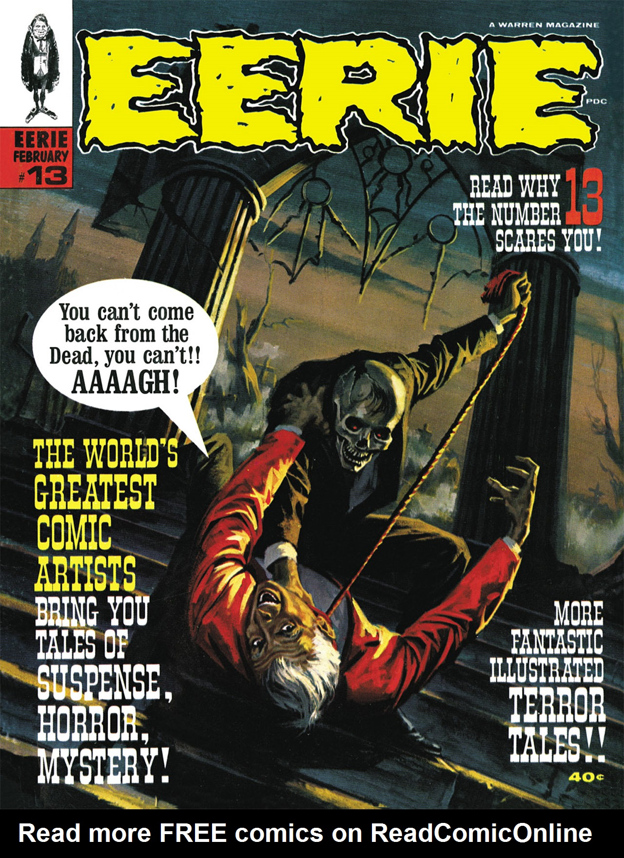 Read online Eerie Archives comic -  Issue # TPB 3 - 120