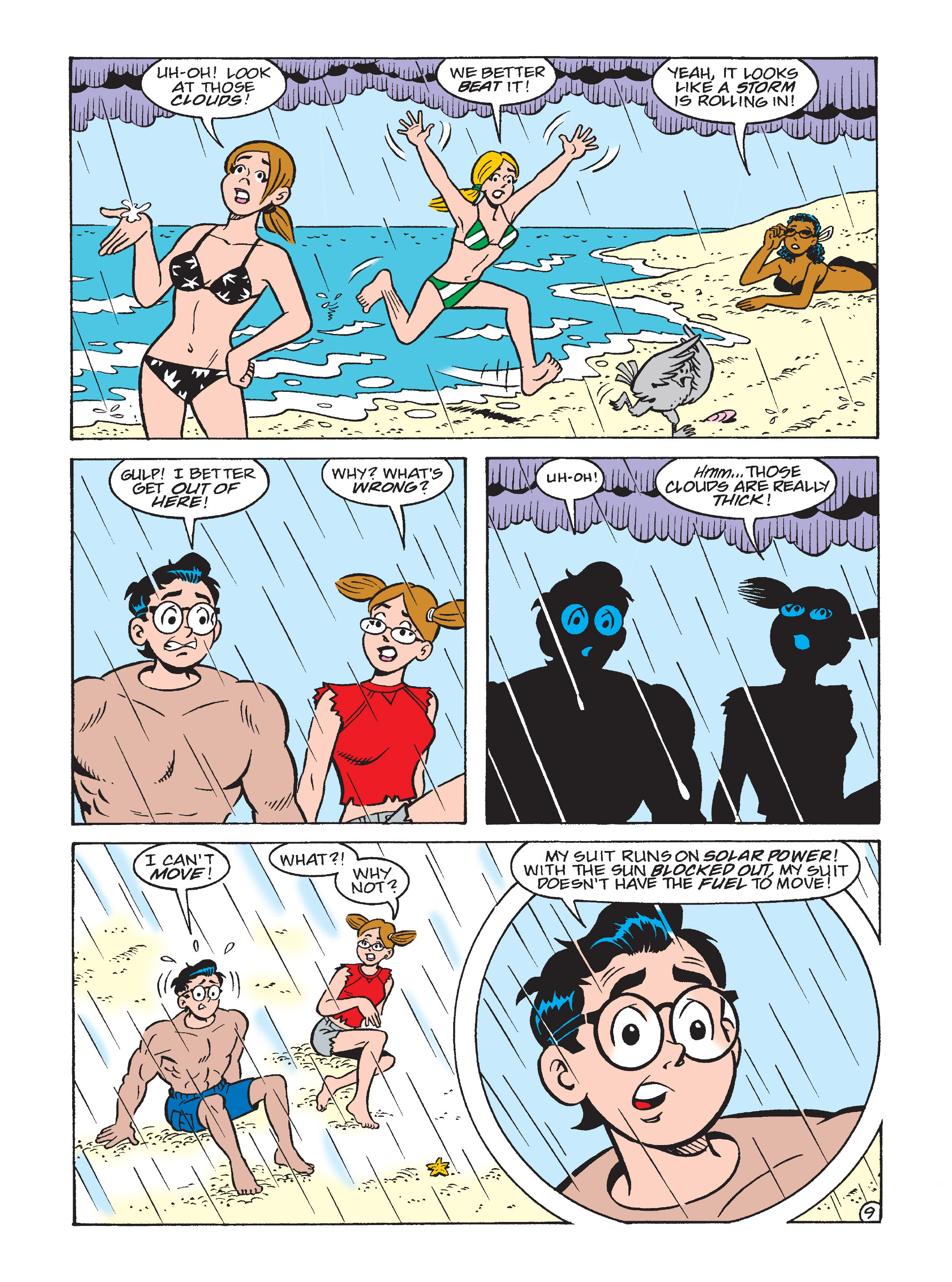 Read online Archie 75th Anniversary Digest comic -  Issue #3 - 216