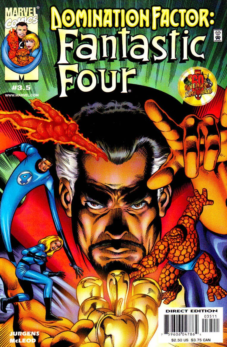 Domination Factor: Fantastic Four issue 3 - Page 1