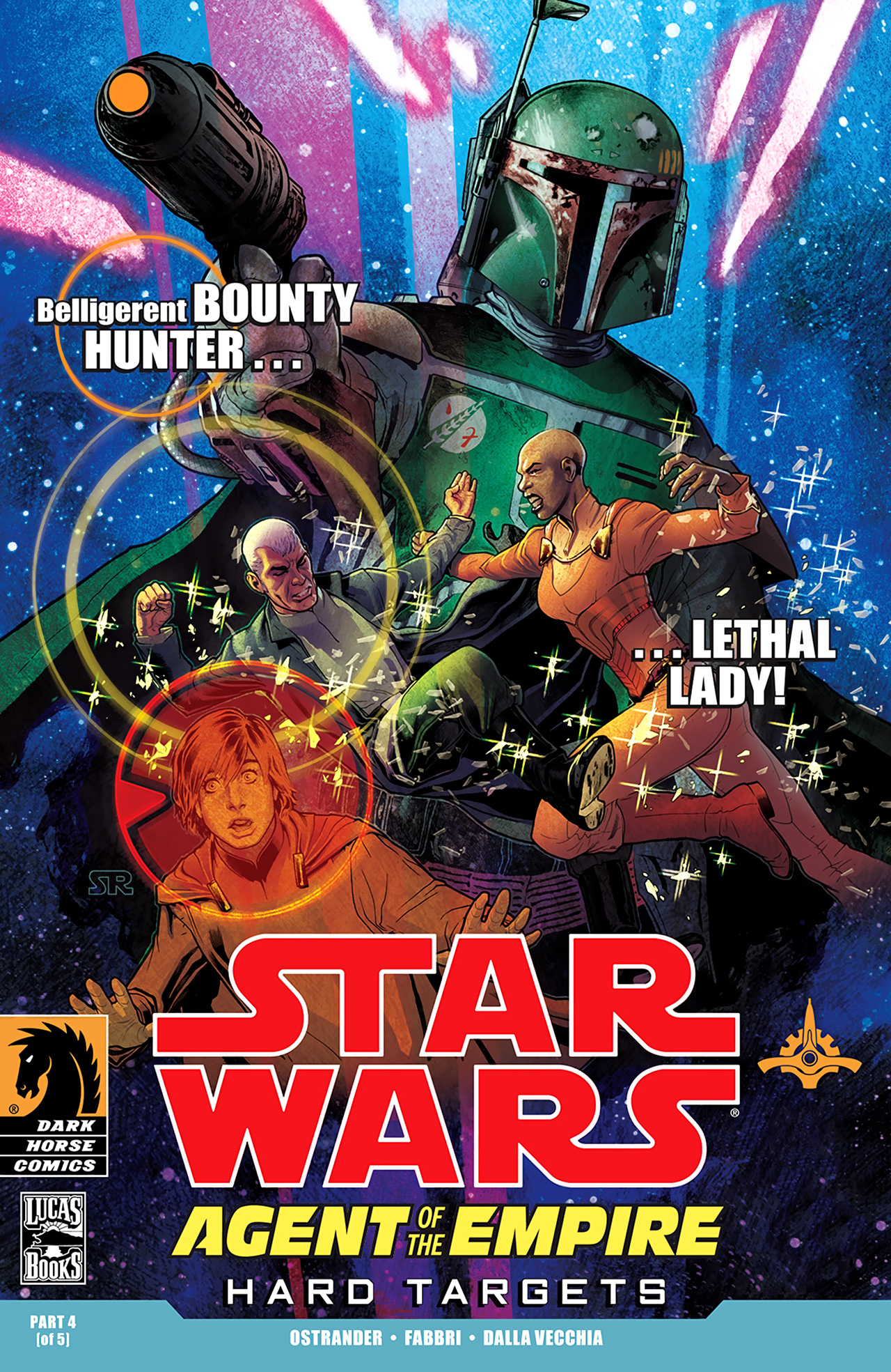 Read online Star Wars: Agent Of The Empire - Hard Targets comic -  Issue #4 - 1