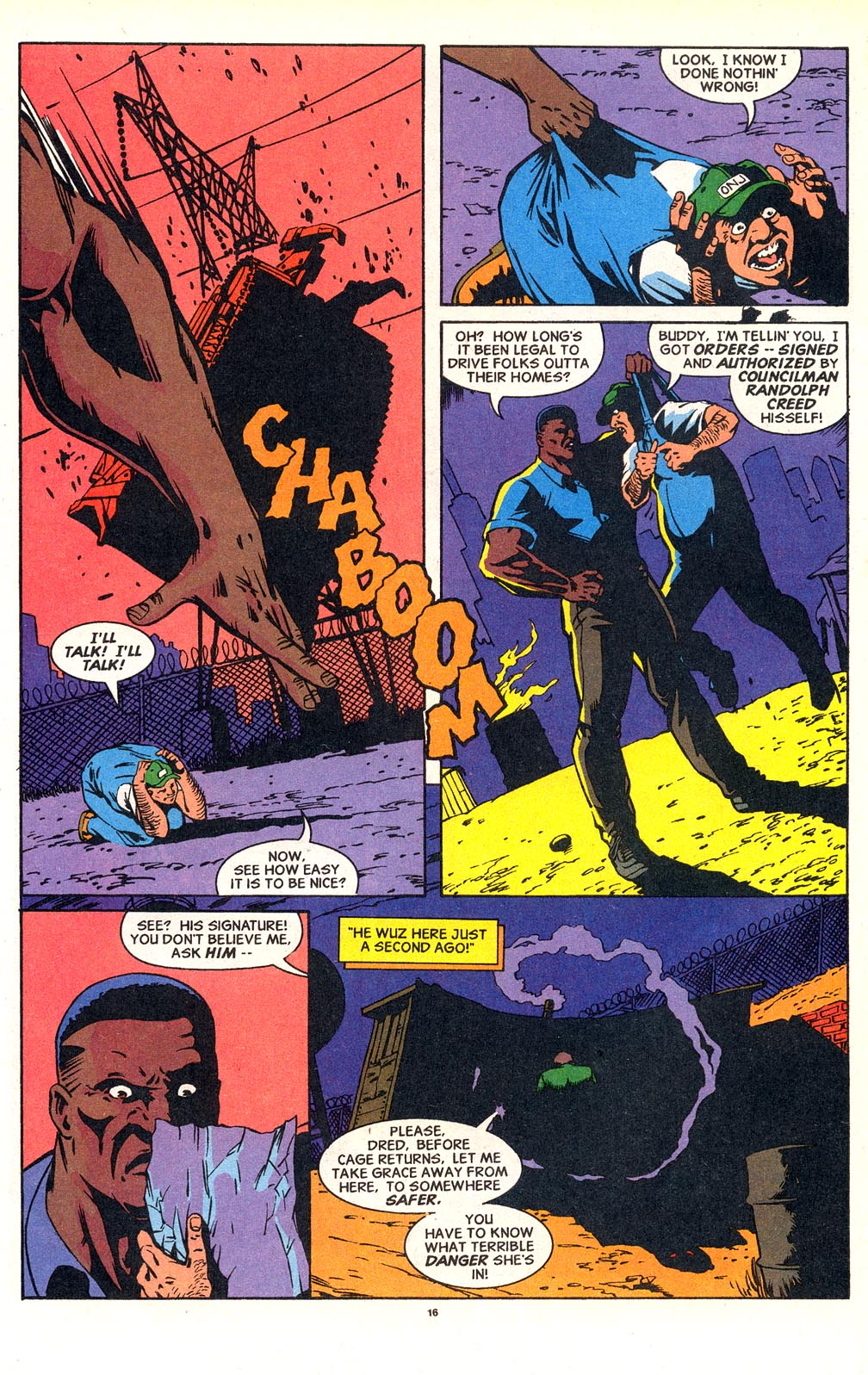 Cage (1992) issue 18 - Page 13