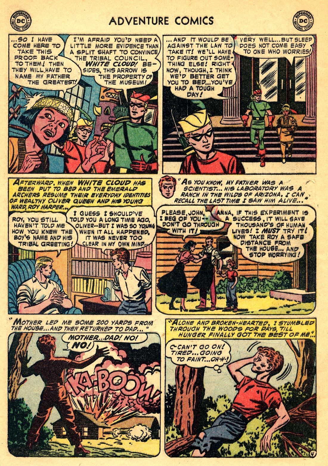 Read online Adventure Comics (1938) comic -  Issue #209 - 28