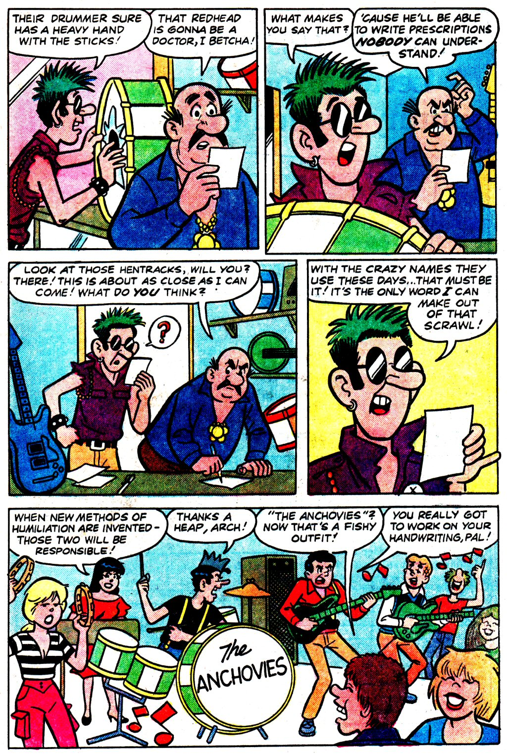 Read online Archie (1960) comic -  Issue #329 - 33