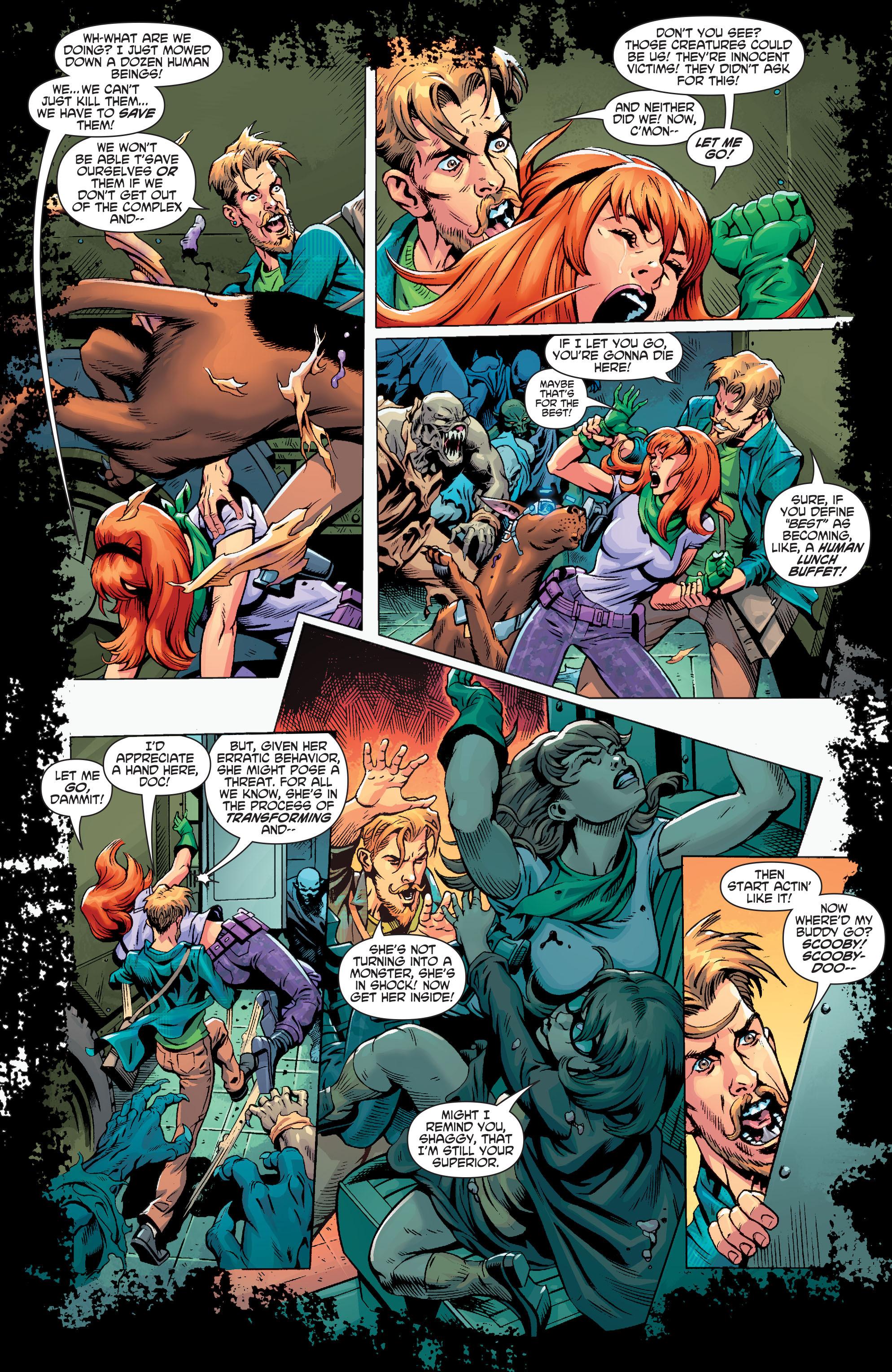Read online Scooby Apocalypse comic -  Issue #3 - 10
