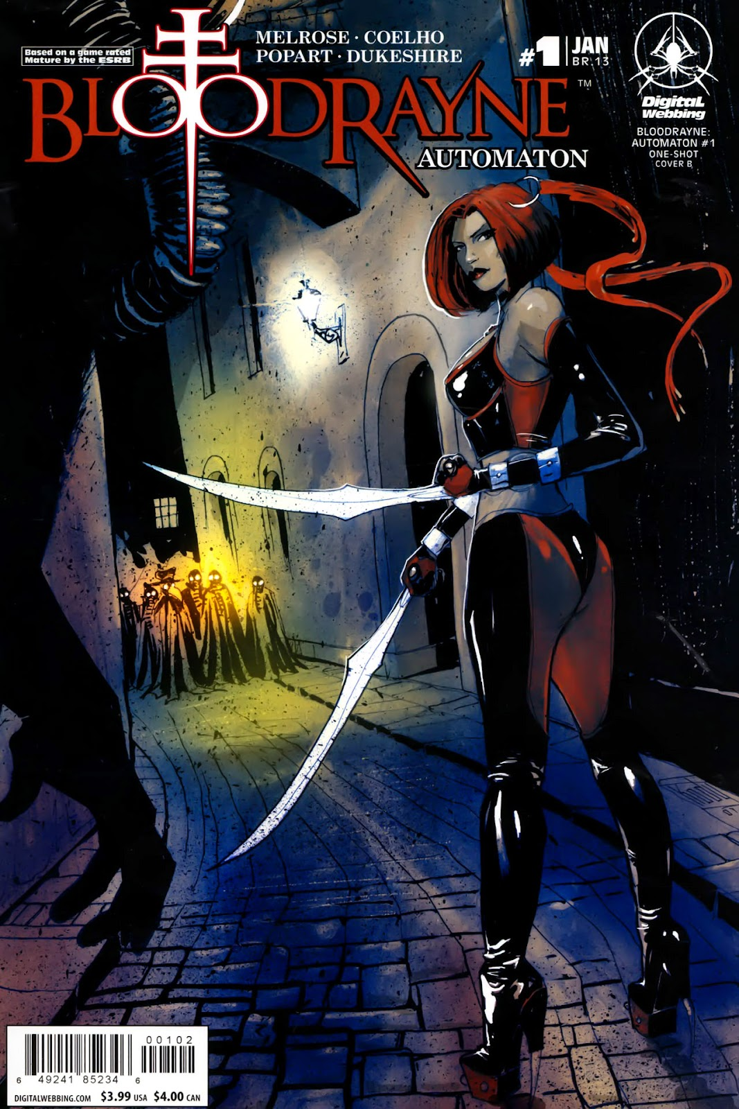 BloodRayne: Automaton issue Full - Page 2