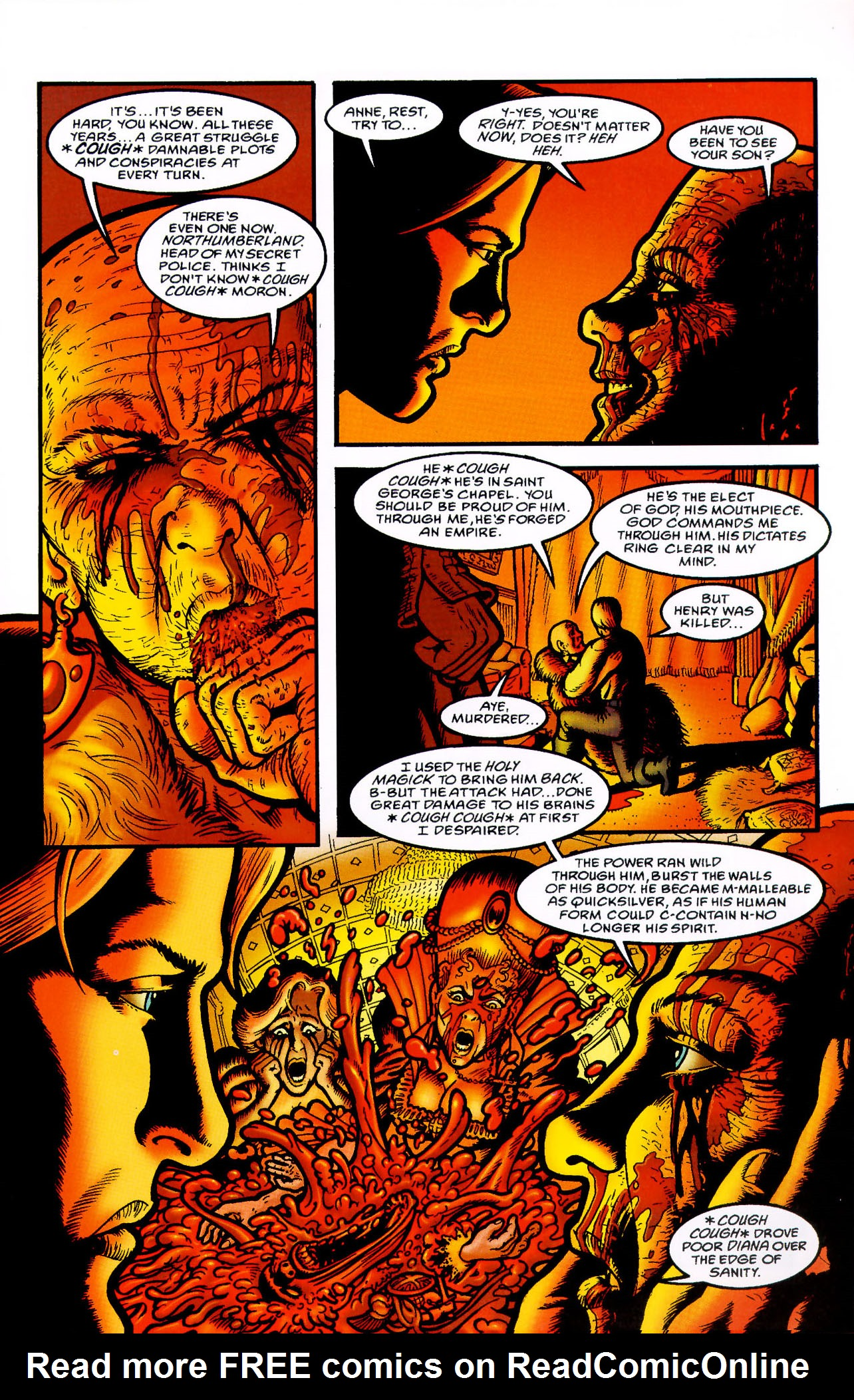 Read online Heart of Empire comic -  Issue #7 - 27