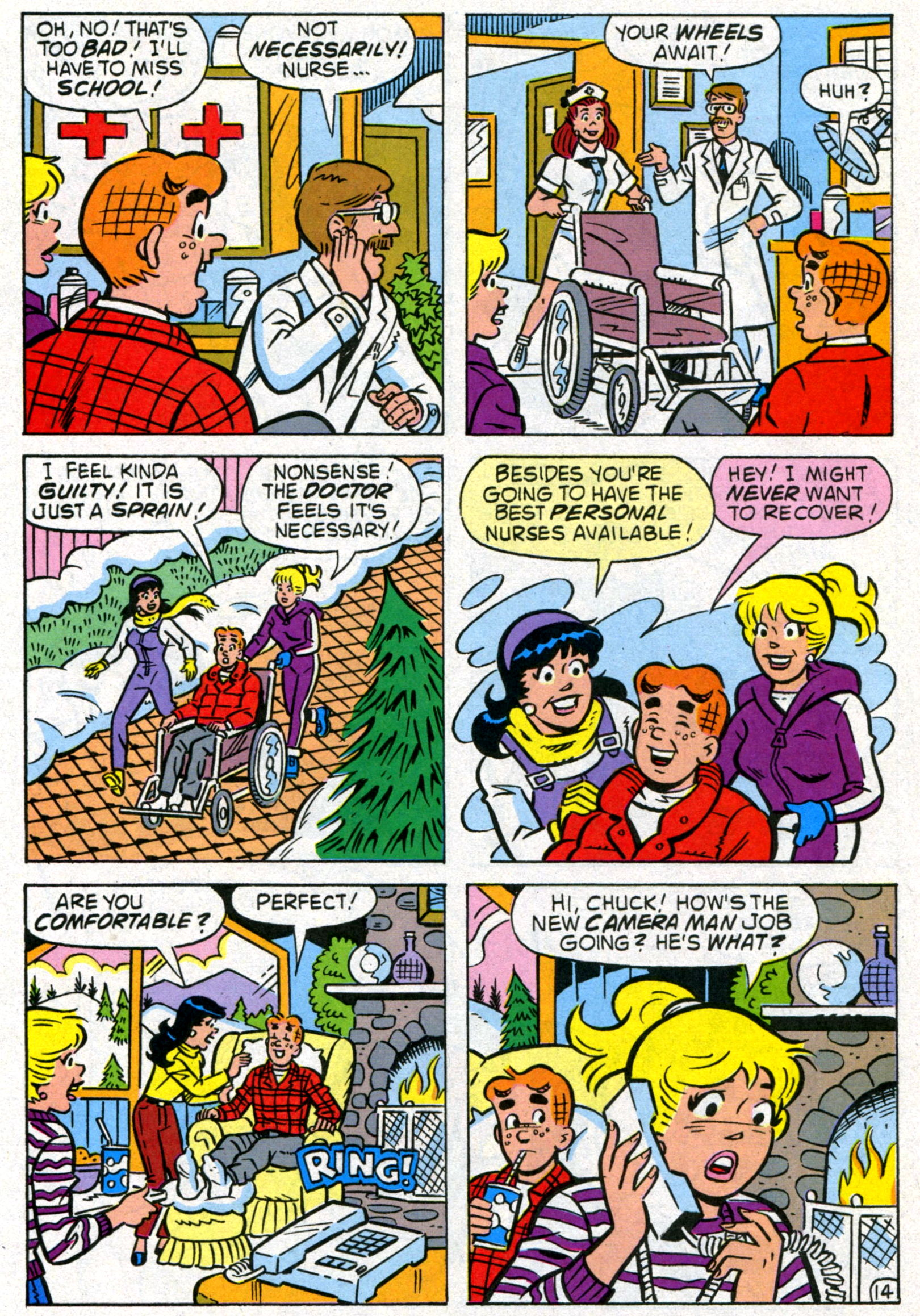 Read online World of Archie comic -  Issue #8 - 21