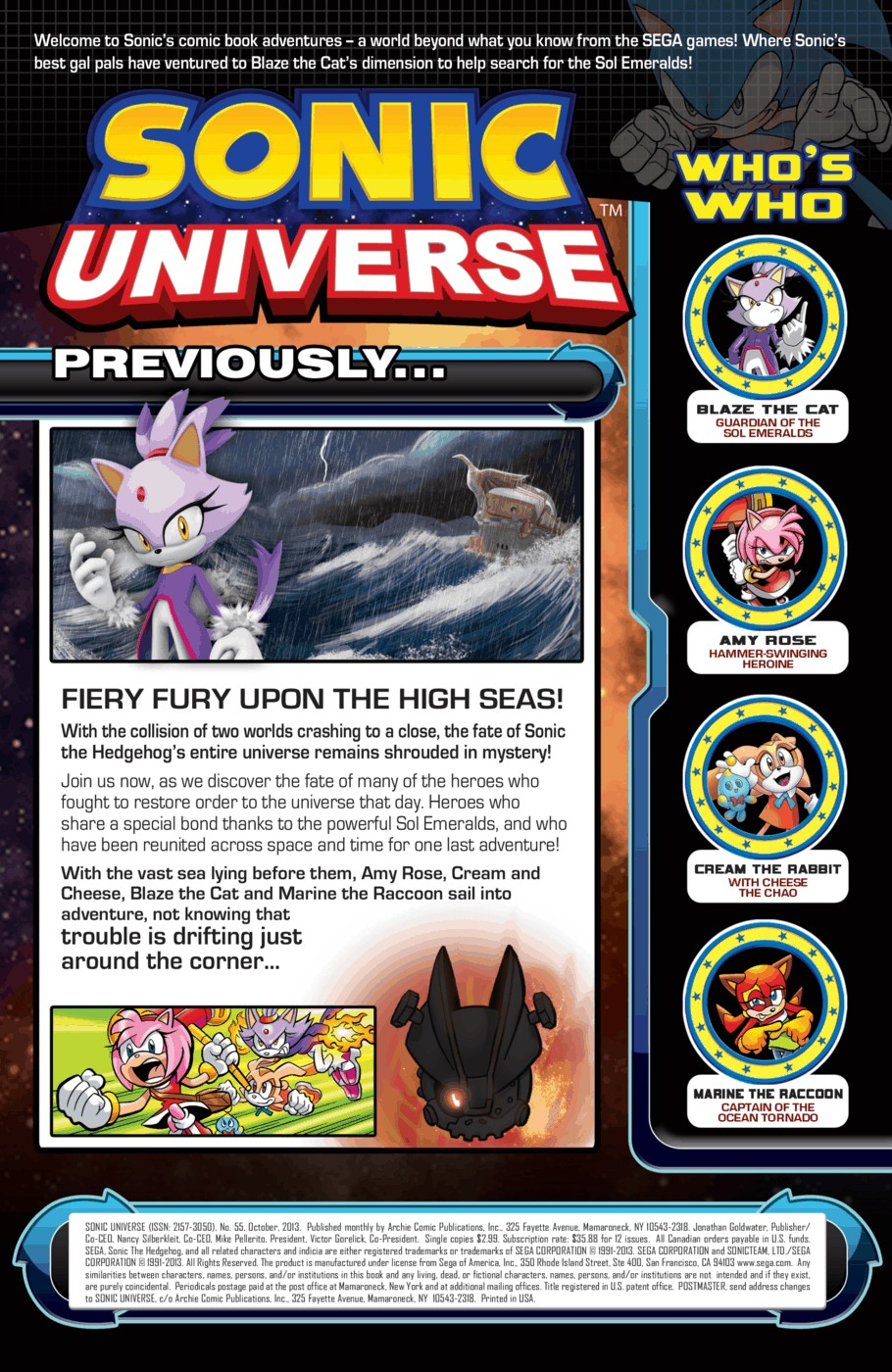 Read online Sonic Universe comic -  Issue #55 - 2