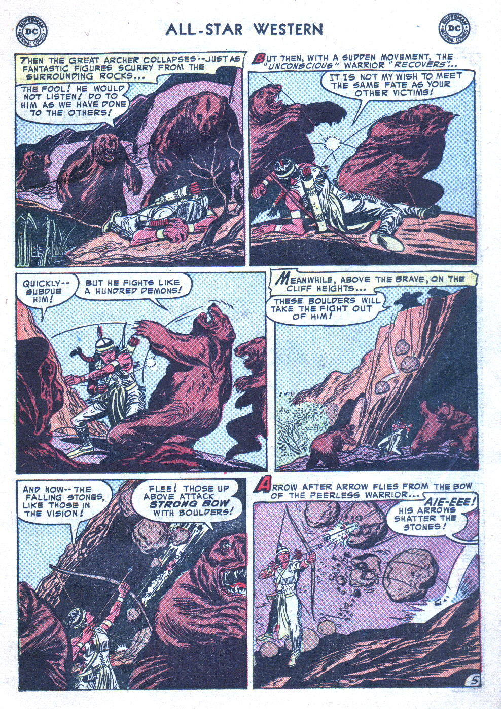 Read online All-Star Western (1951) comic -  Issue #77 - 15