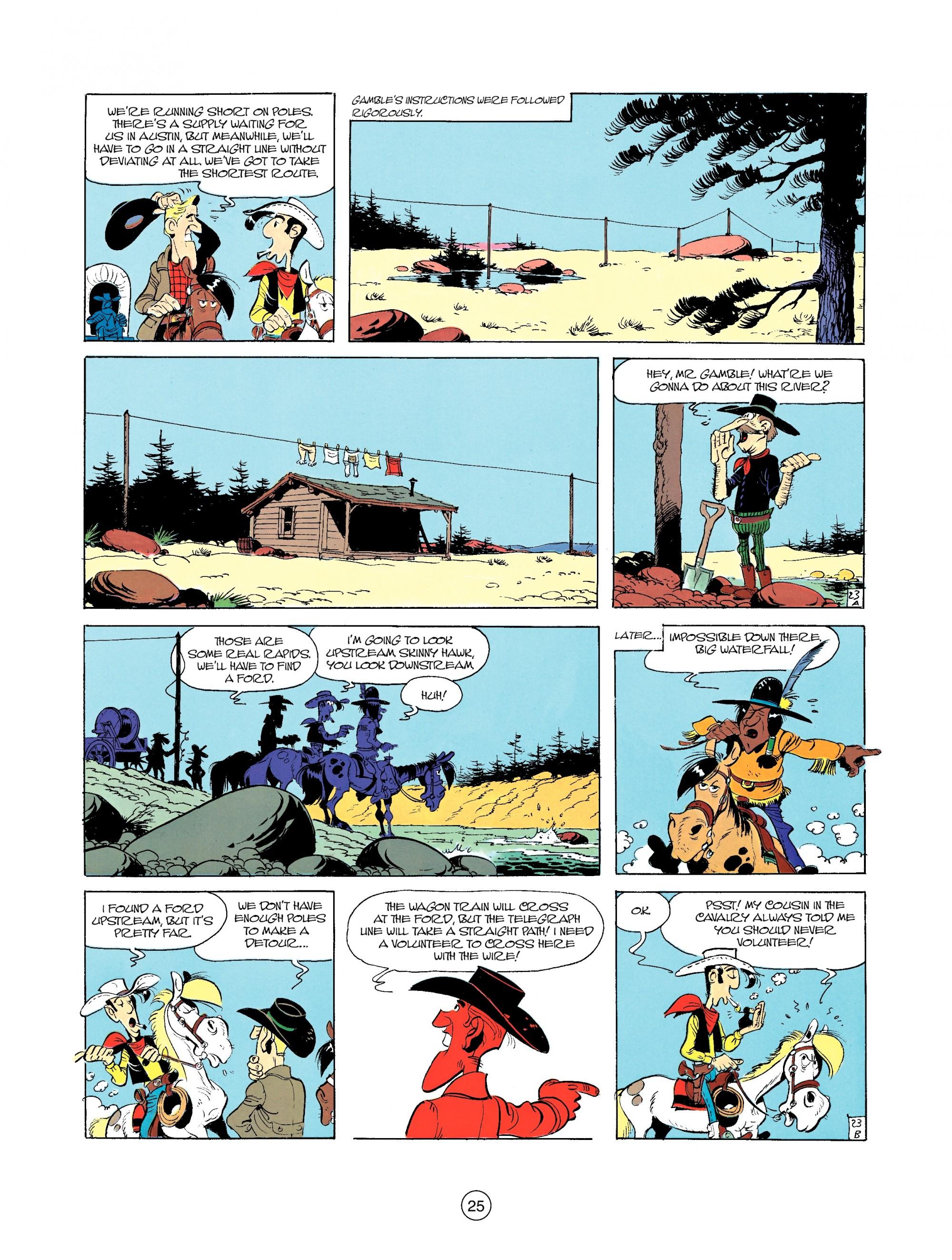 Read online A Lucky Luke Adventure comic -  Issue #35 - 25
