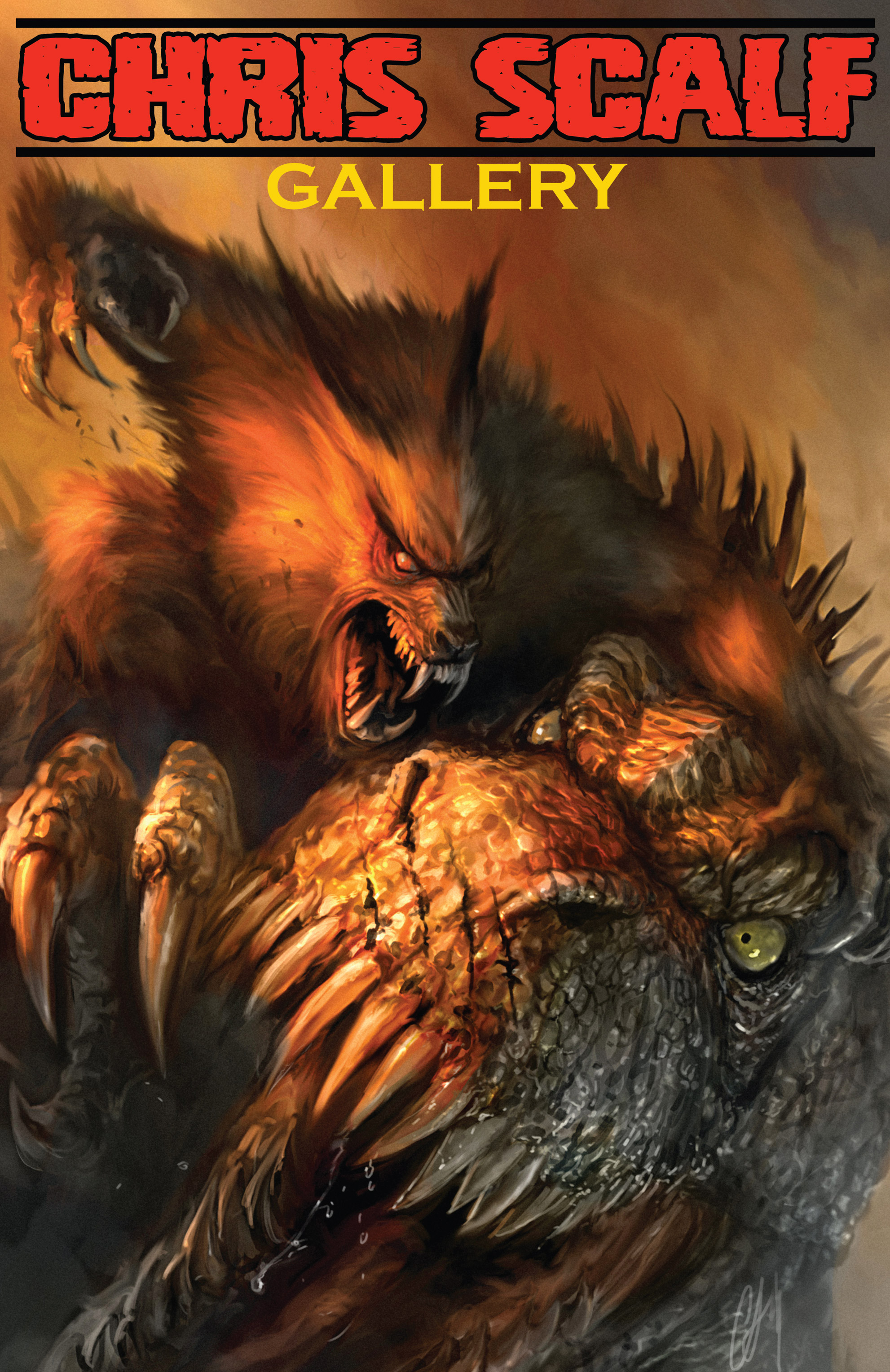 Read online American Mythology Dark: Werewolves vs Dinosaurs comic -  Issue #2 - 27