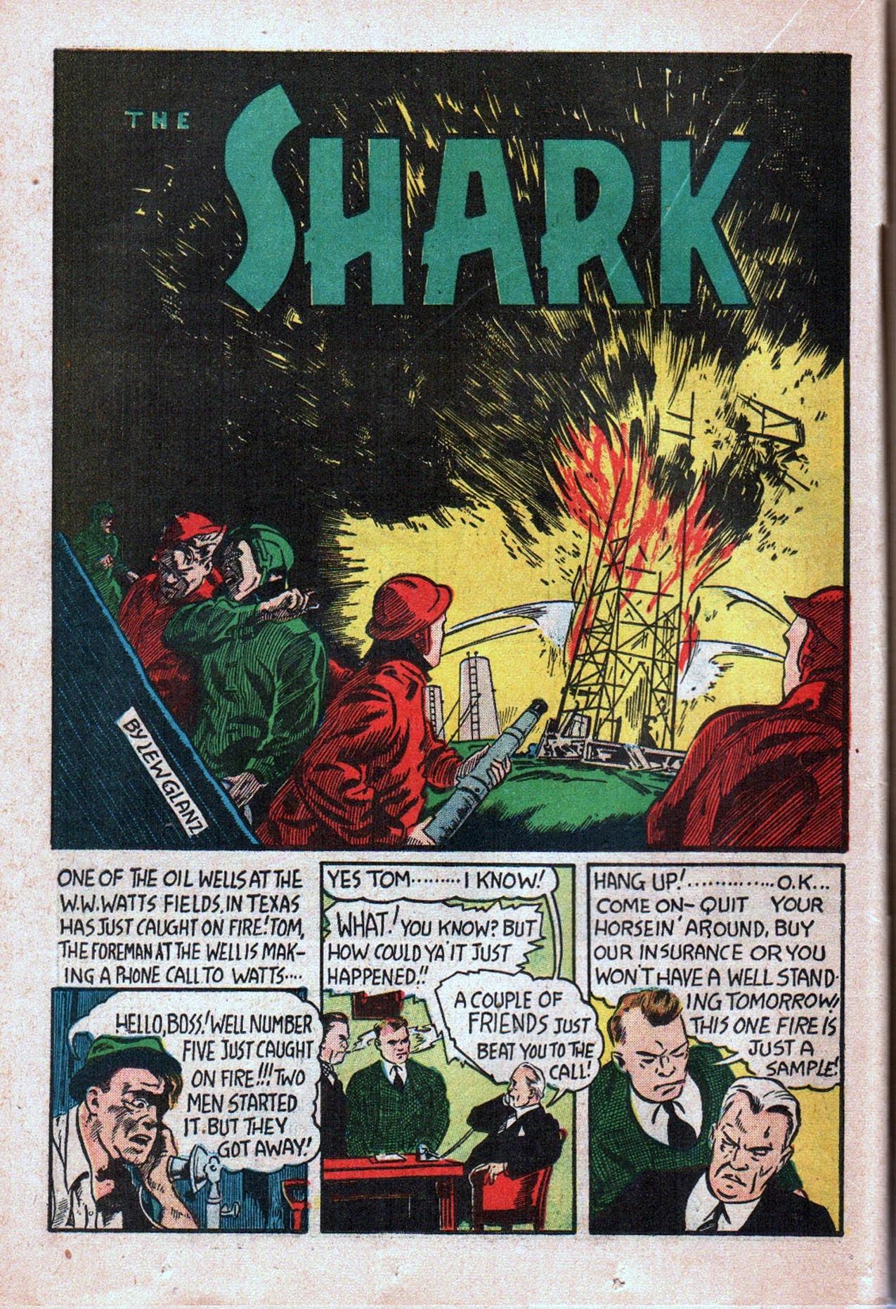 Read online Amazing Man Comics comic -  Issue #20 - 43