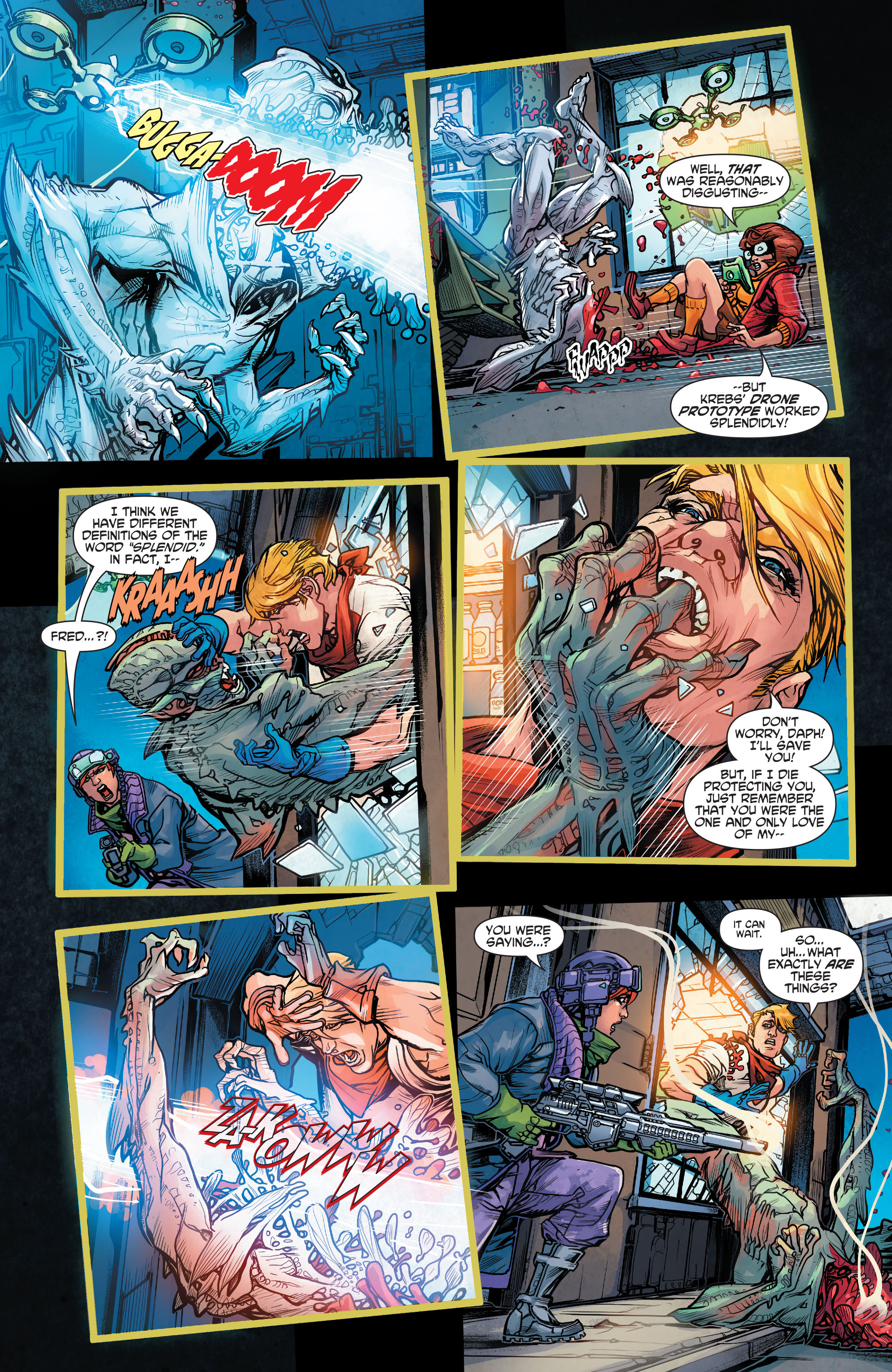 Read online Scooby Apocalypse comic -  Issue #4 - 12