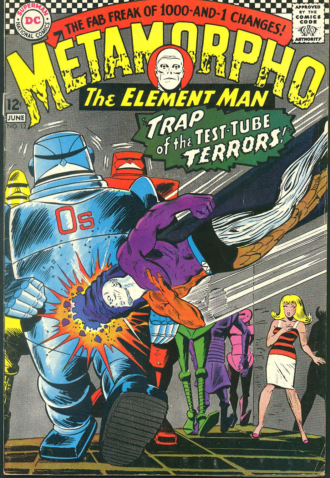 Metamorpho (1965) issue 12 - Page 1