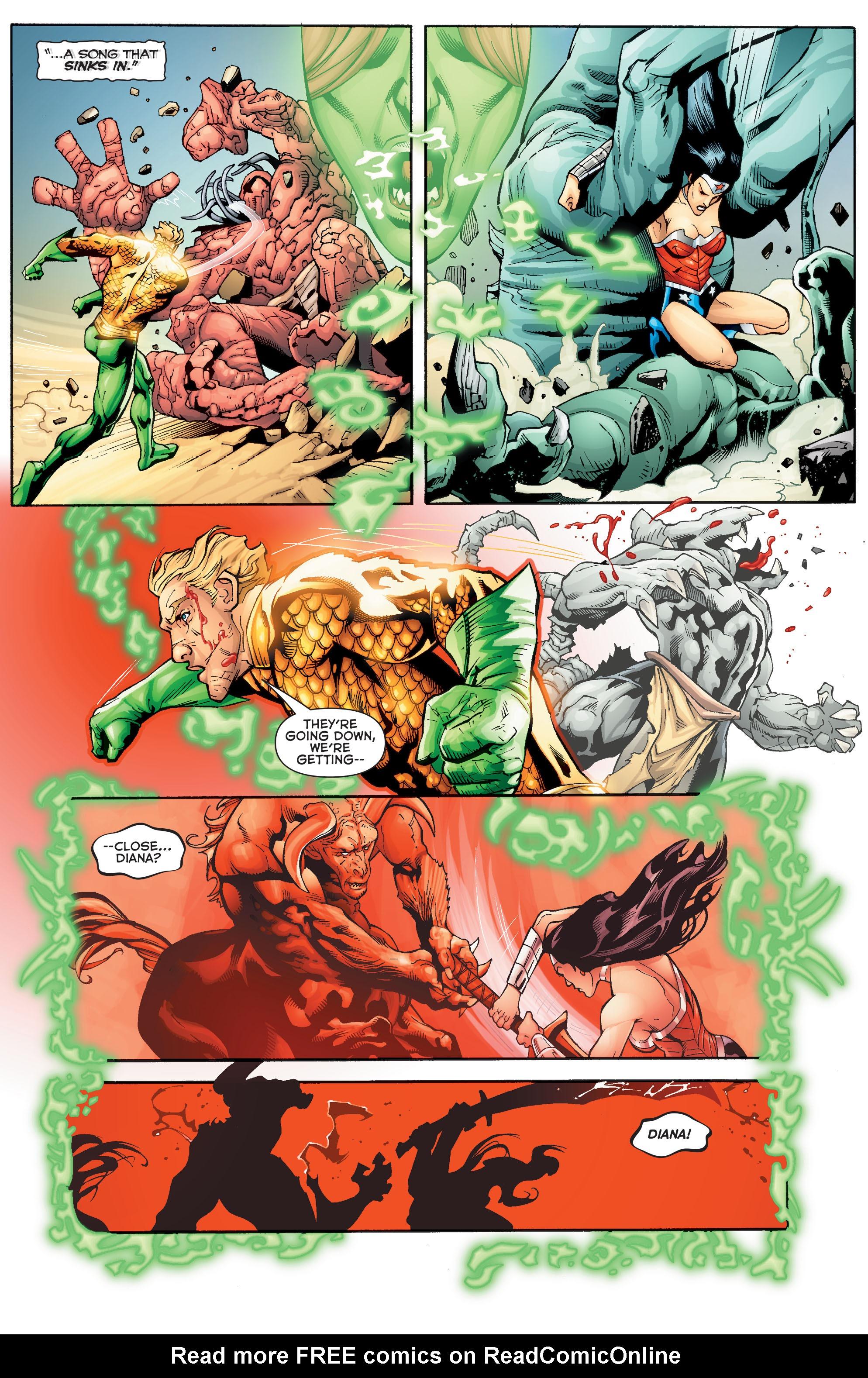 Read online Aquaman (2011) comic -  Issue #Aquaman (2011) _Annual 2 - 18