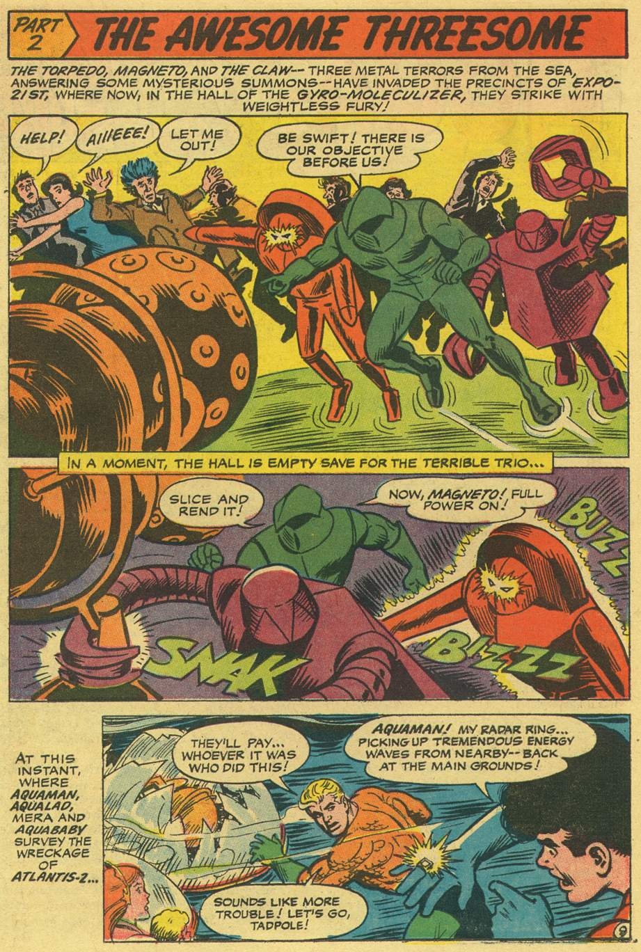 Read online Aquaman (1962) comic -  Issue #36 - 14