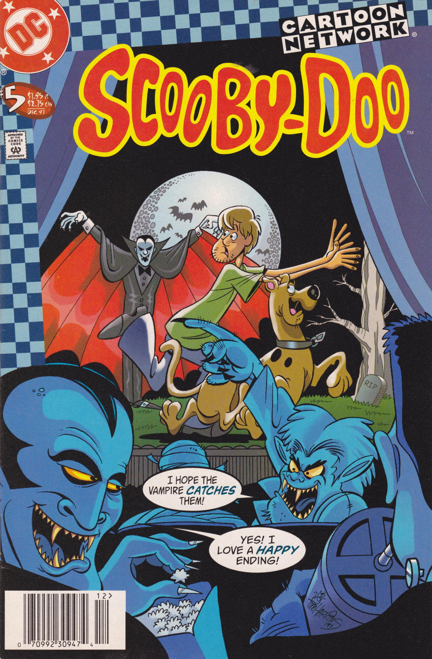 Read online Scooby-Doo (1997) comic -  Issue #5 - 1